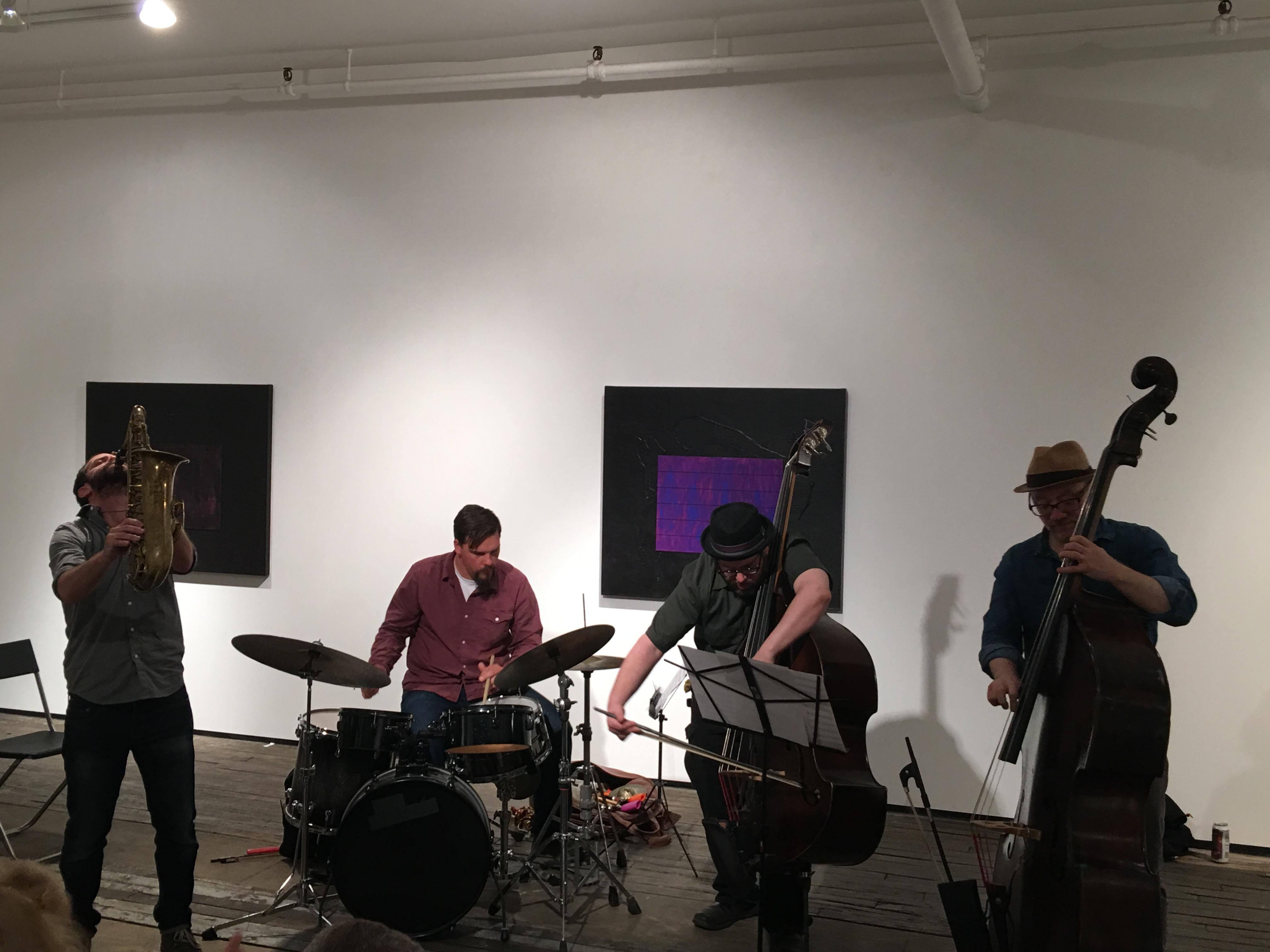 Concert Review: Yoni Kretzmer 2-Bass Quartet Live at the Zürcher Gallery, April 25