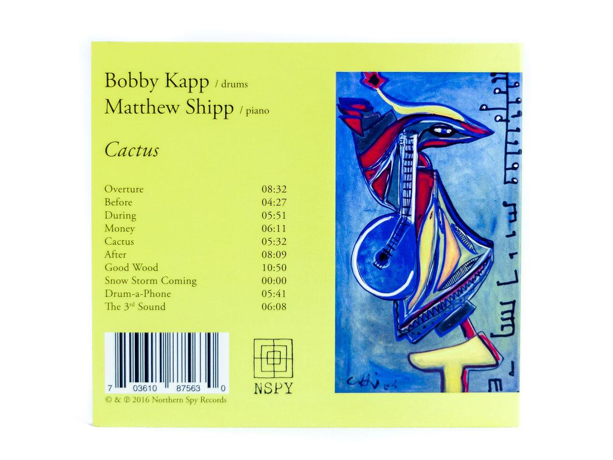 Review: Bobby Kapp & Matthew Shipp – Cactus
