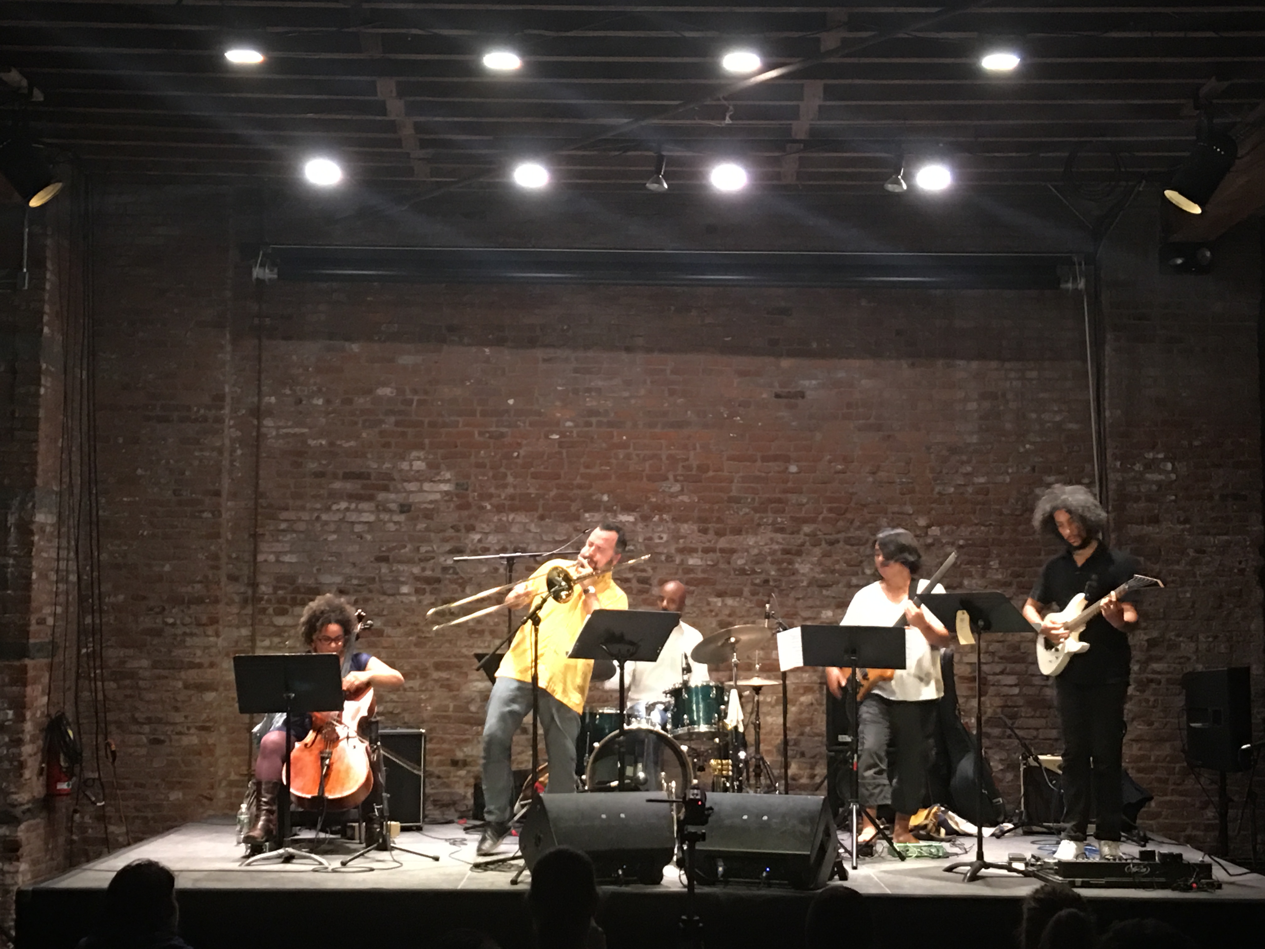 Review: Taylor Ho Bynum's Rank Sentimentalist at Pioneer Works, Oct 7, 2016