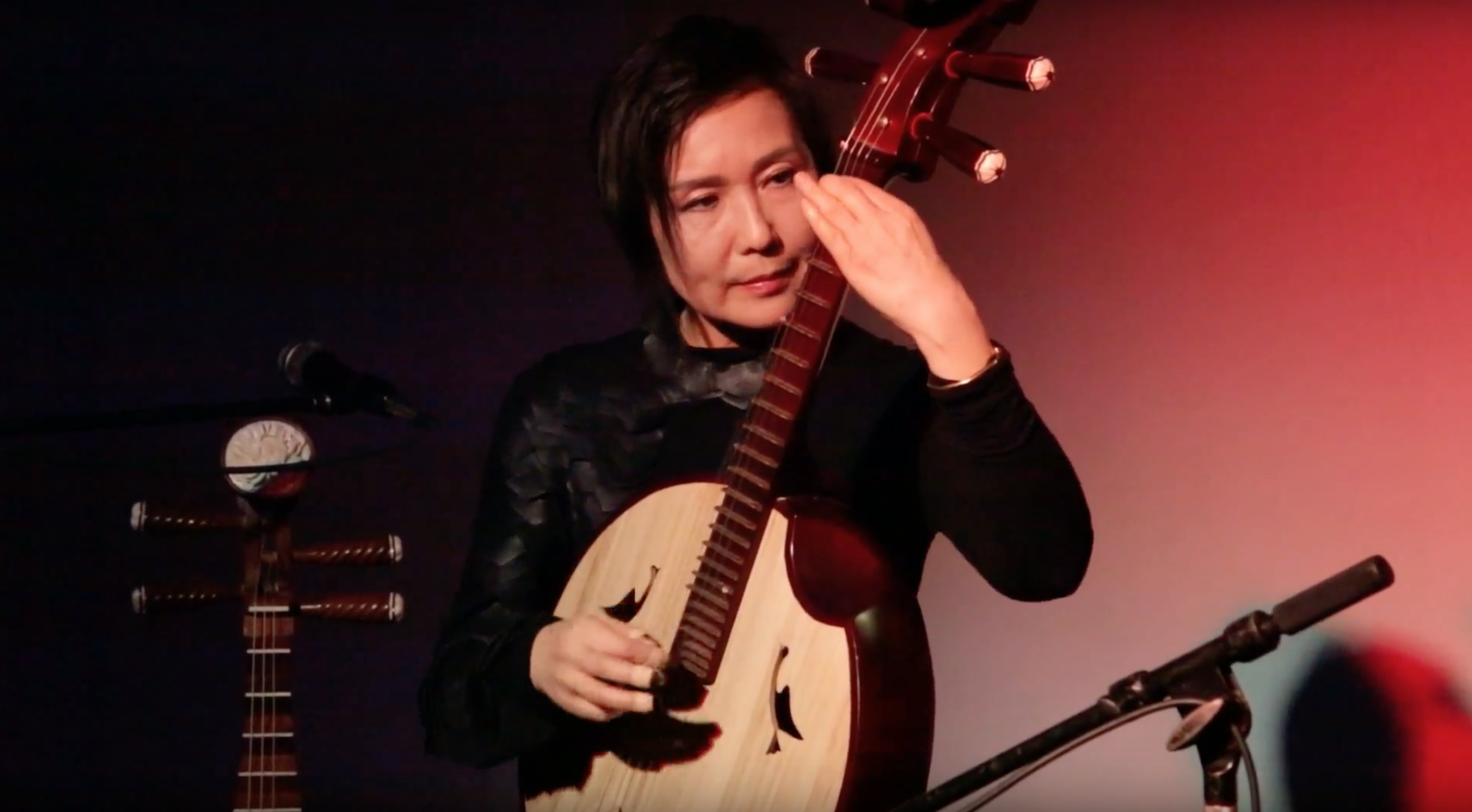 Min Xiao-Fen [songs from 'Mao, Monk & Me'] @  the Dither Extravaganza [Dec – 04]