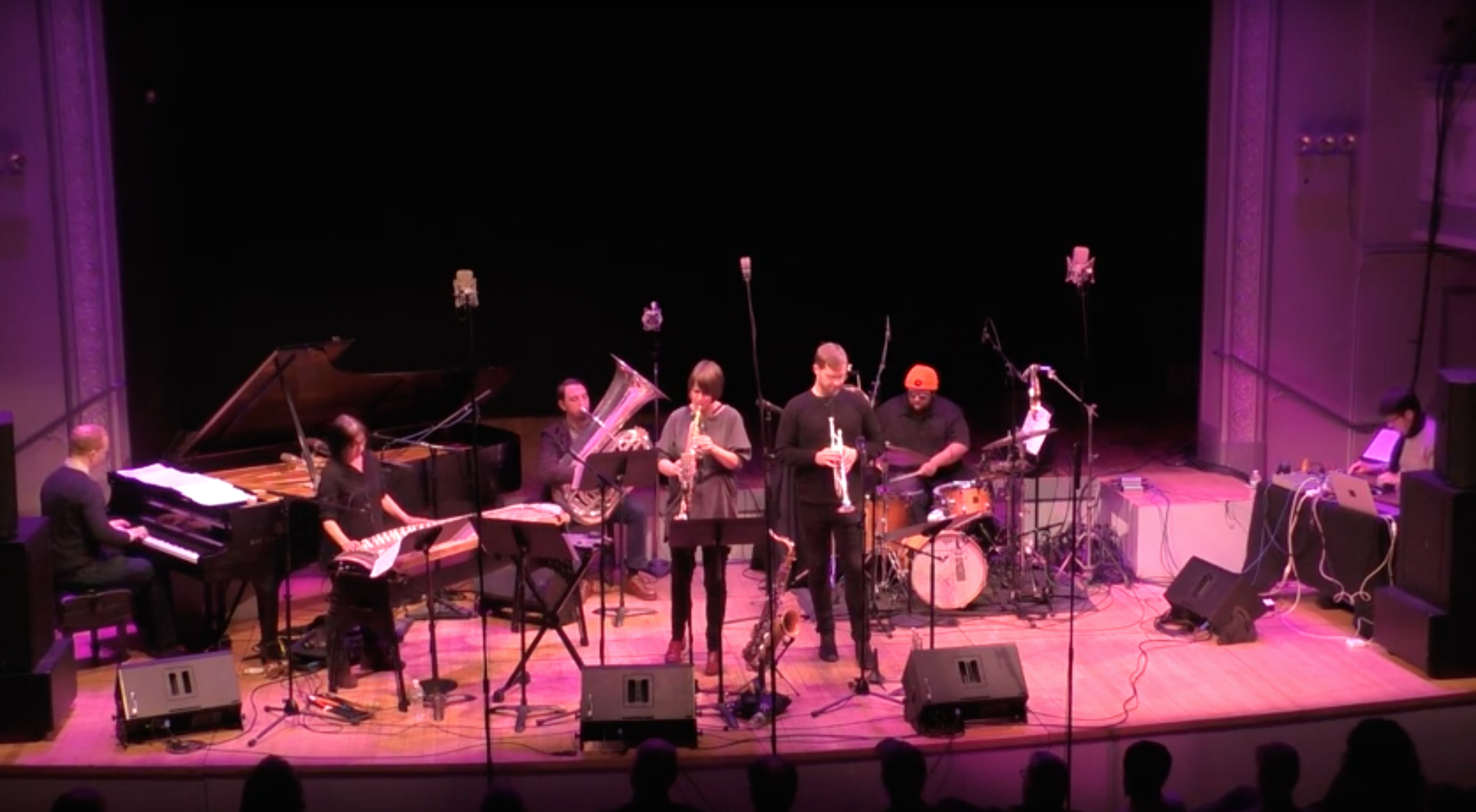 Ingrid Laubrock Septet @ Roulette [Dec – 15]