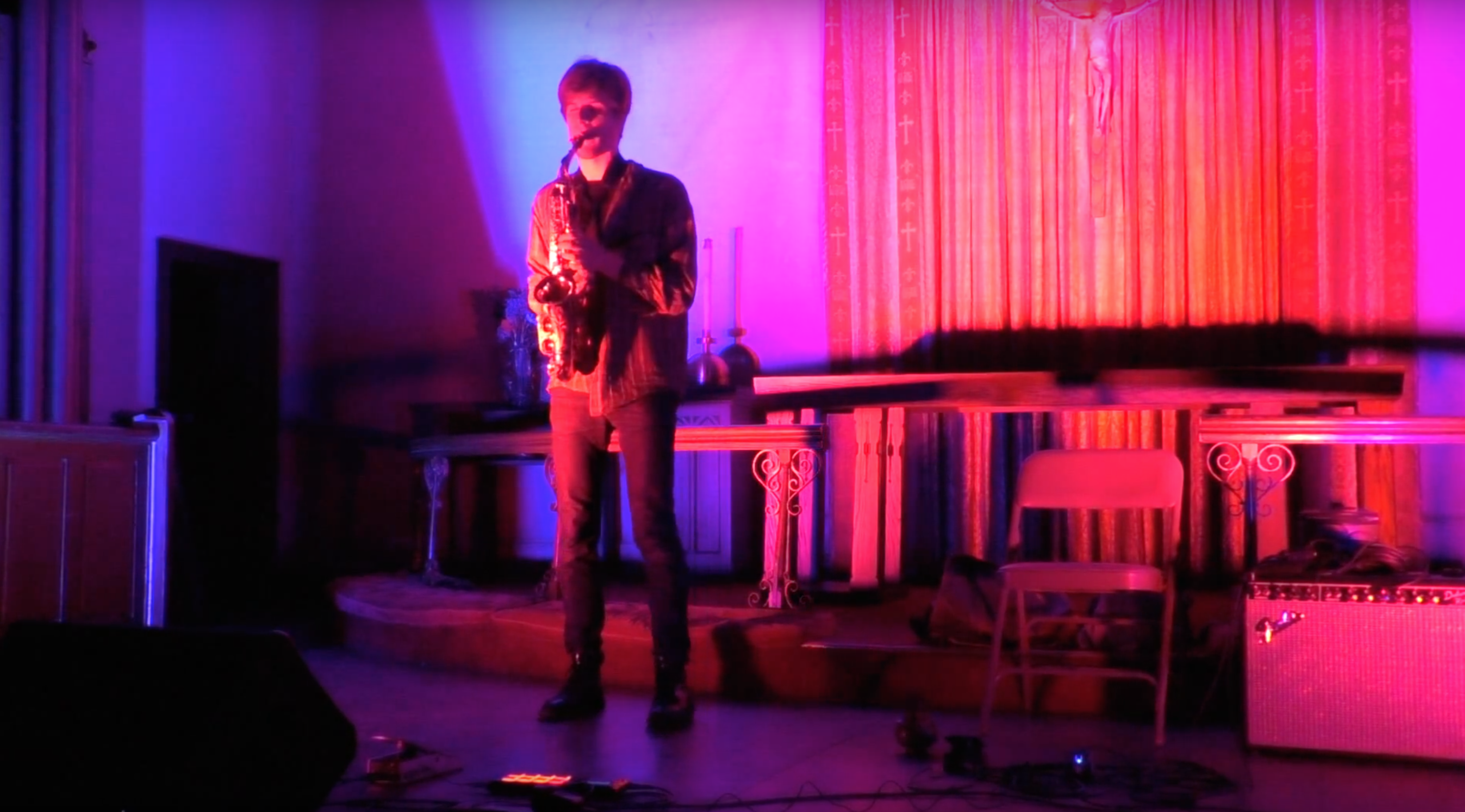 Chris Pitsiokos solo @ Park Church Co-op [Nov – 29]