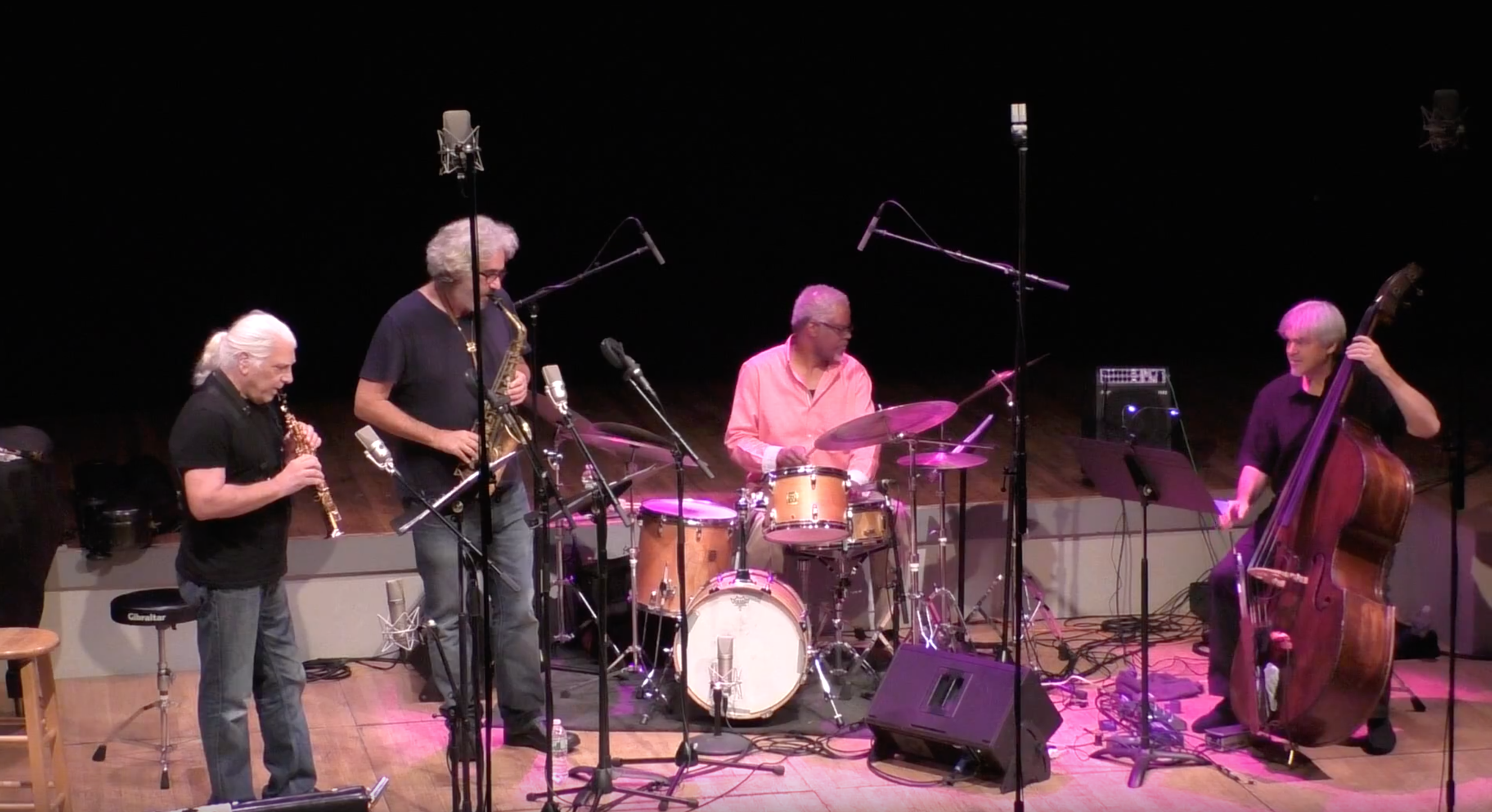 Vinny Golia Quartet @ Roulette [Oct – 04]