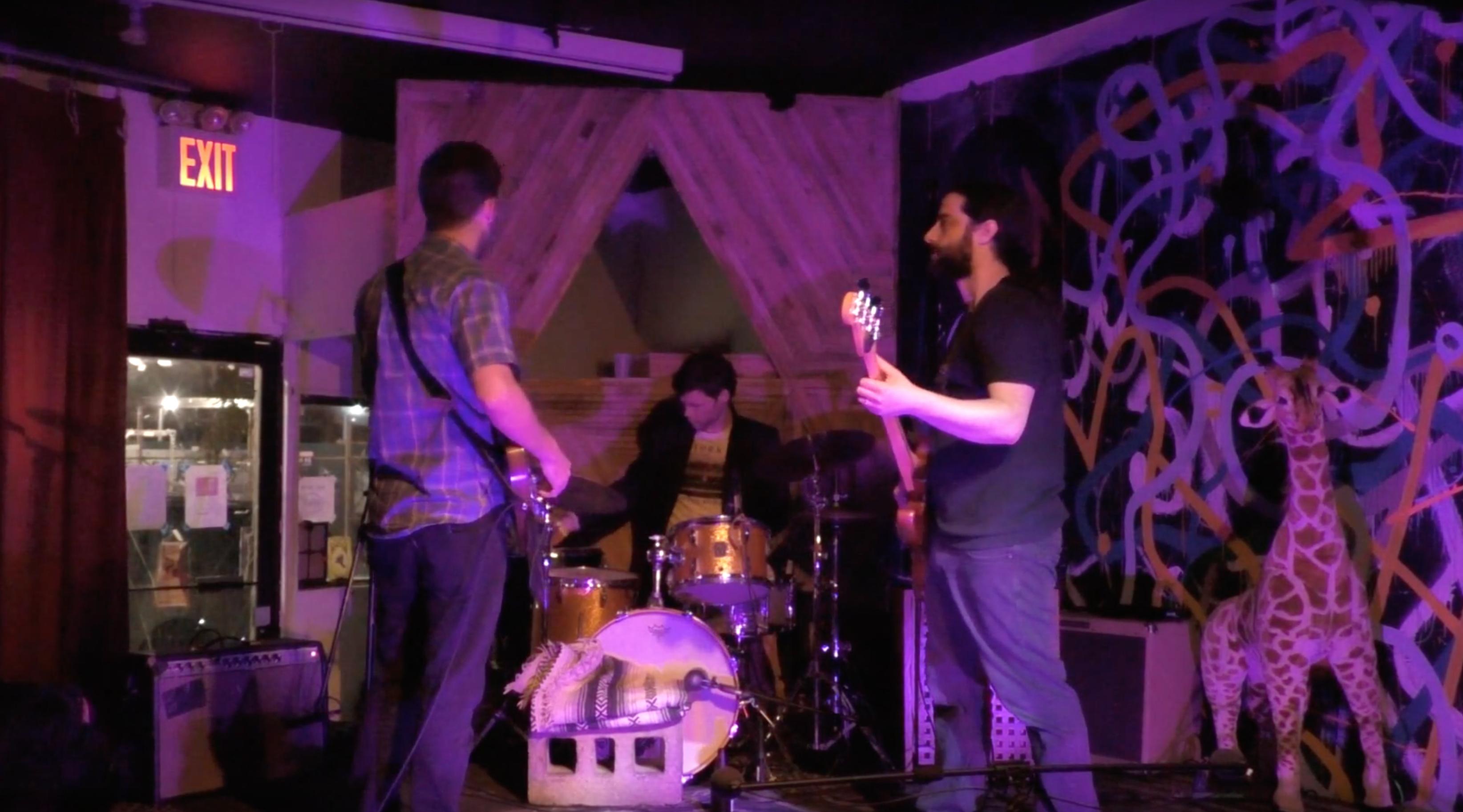 Nick Millevoi's Desertion Trio @ Silent Barn [Sept – 15]
