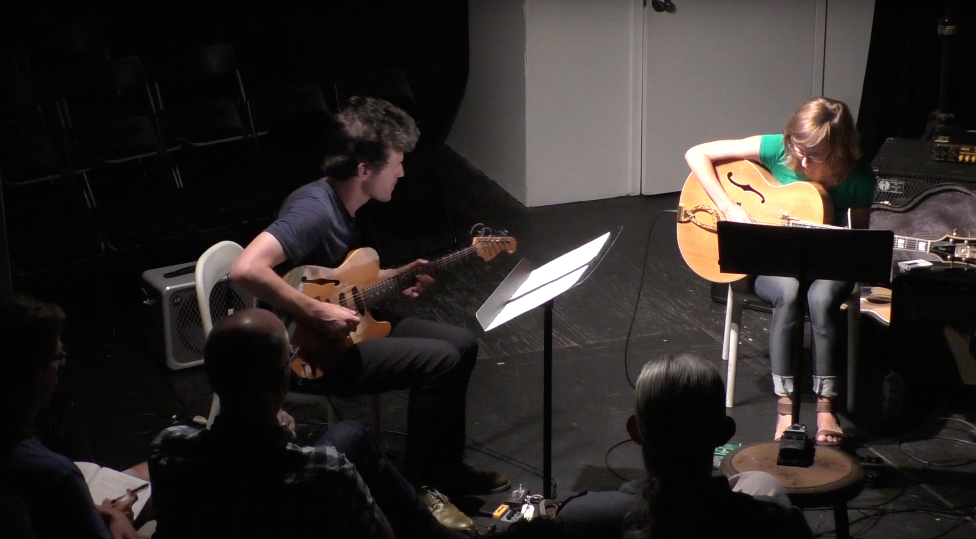 Mary Halvorson \ Brandon Seabrook @ The Stone [Aug – 03]