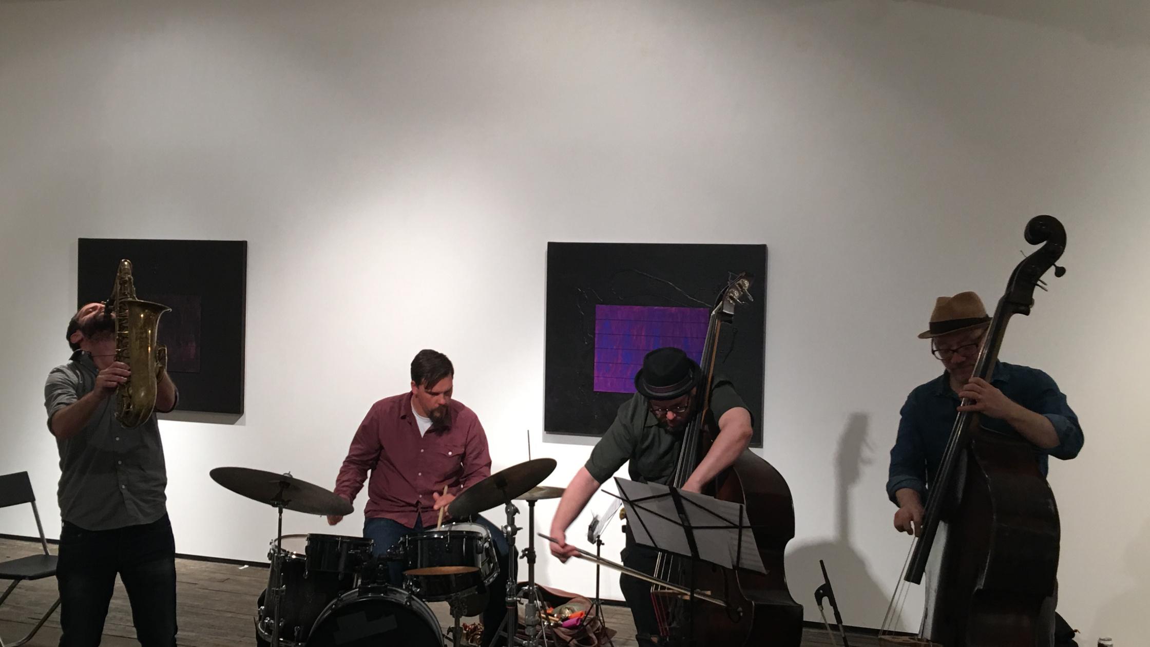 Yoni Kretzmer 2-Bass Quartet Live At The Zurcher Gallery, April 25