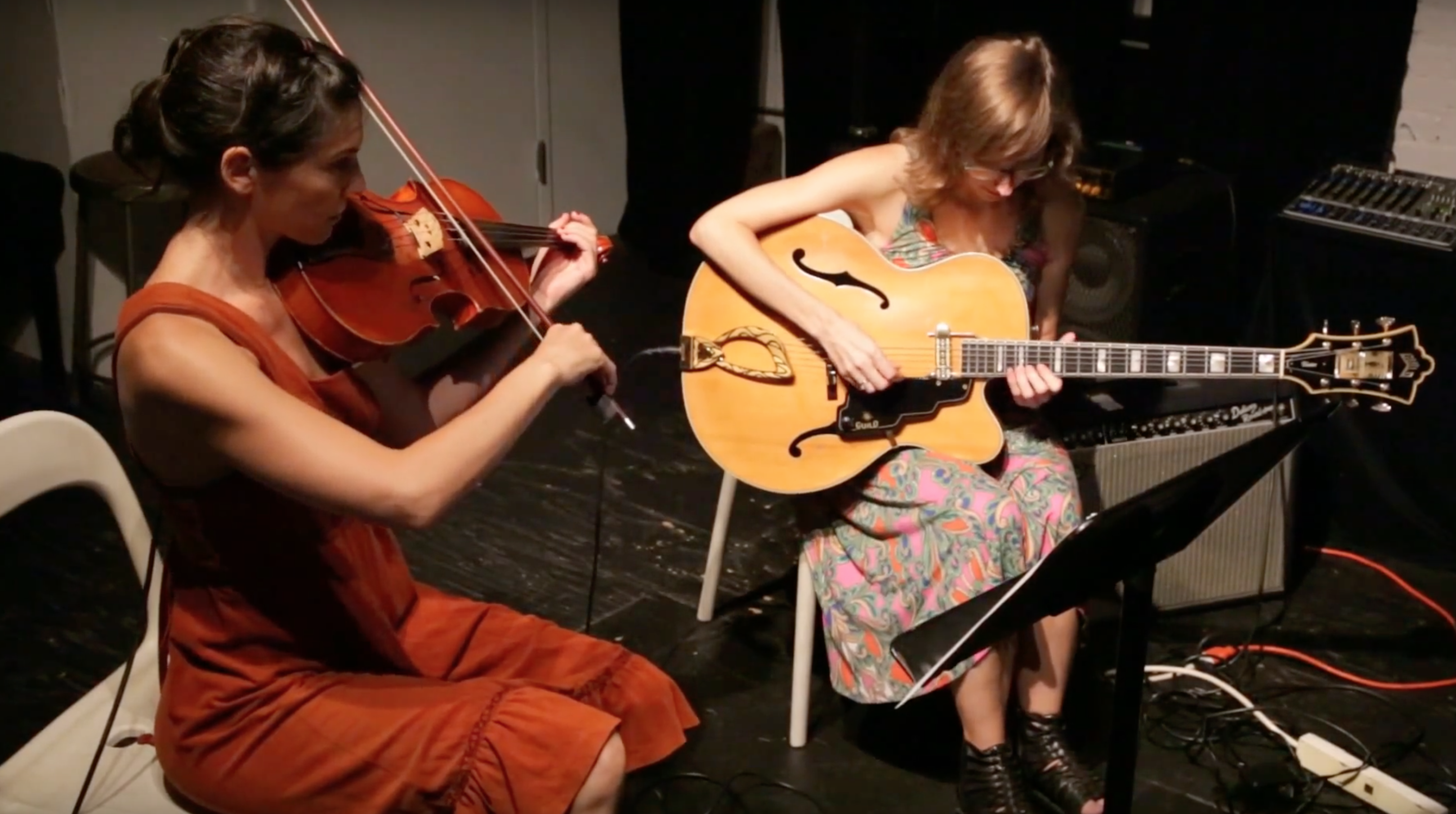 Mary Halvorson \ Jessica Pavone @ The Stone [July – 29]