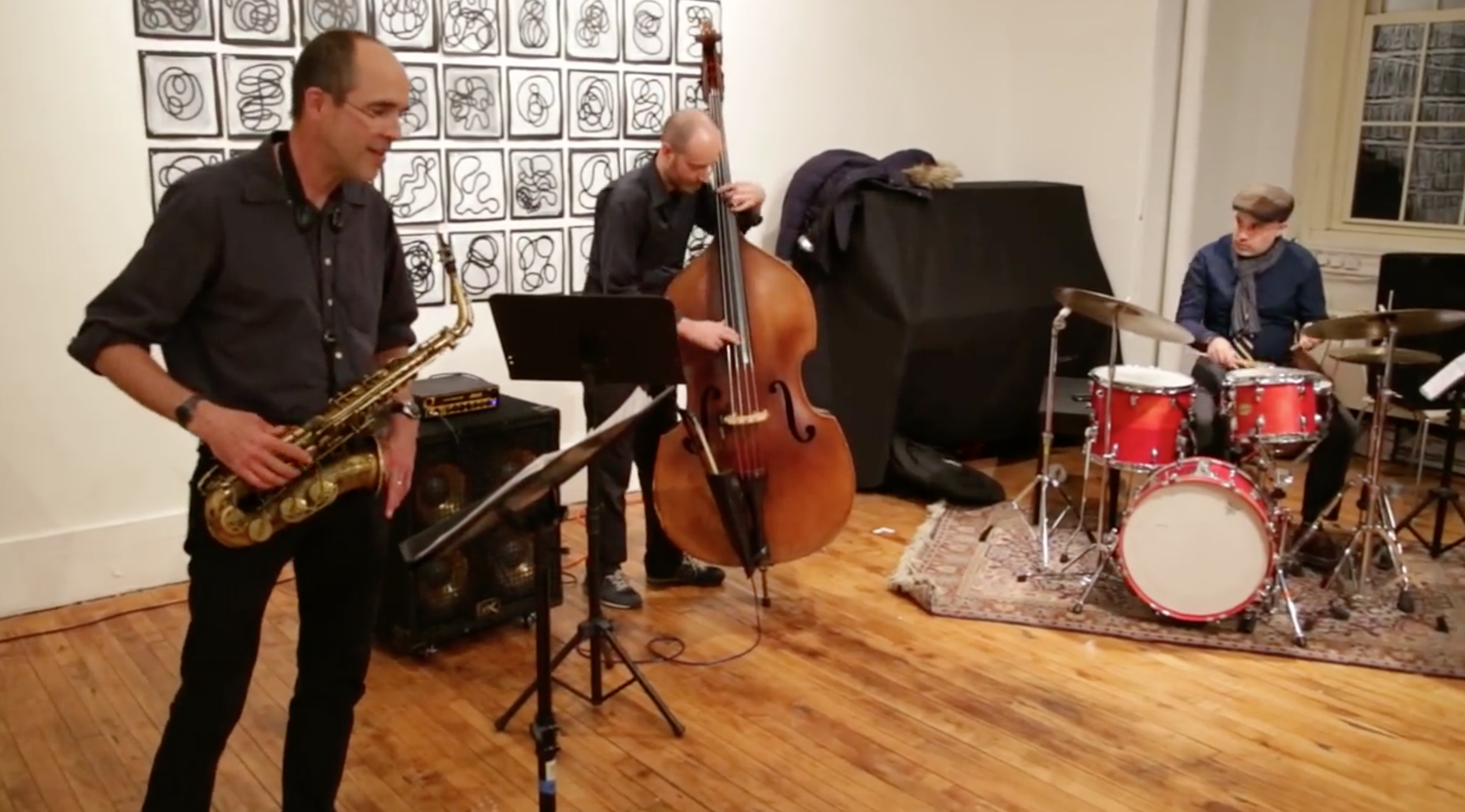Rob Brown Trio @ Arts For Art (NYC Free Jazz Summit) [Apr – 04]