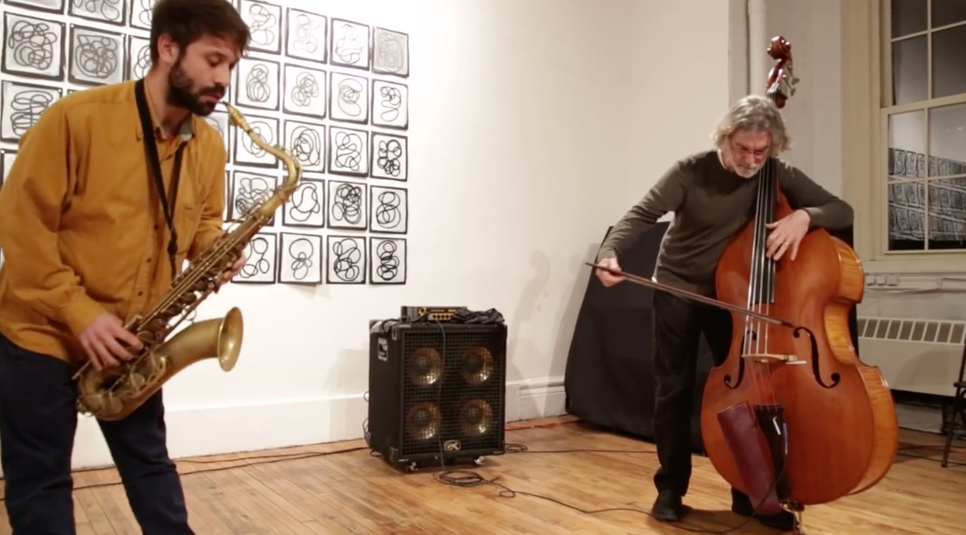 Joe Morris \ Abraham Mennen @ Arts For Art (NYC Free Jazz Summit) [Apr – 08]