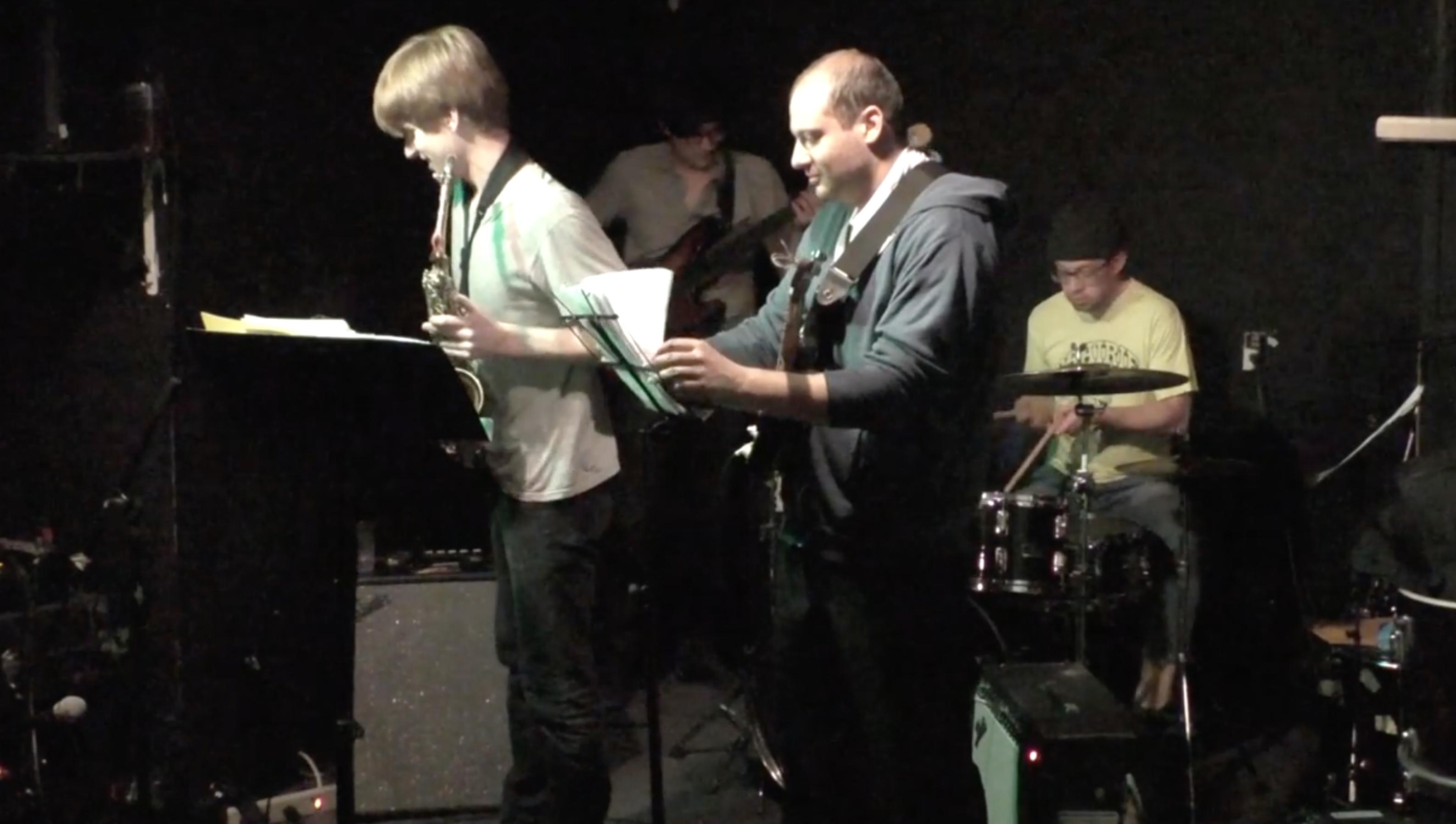 Chris Pitsiokos Quartet @ Muchmore's [Apr – 17]