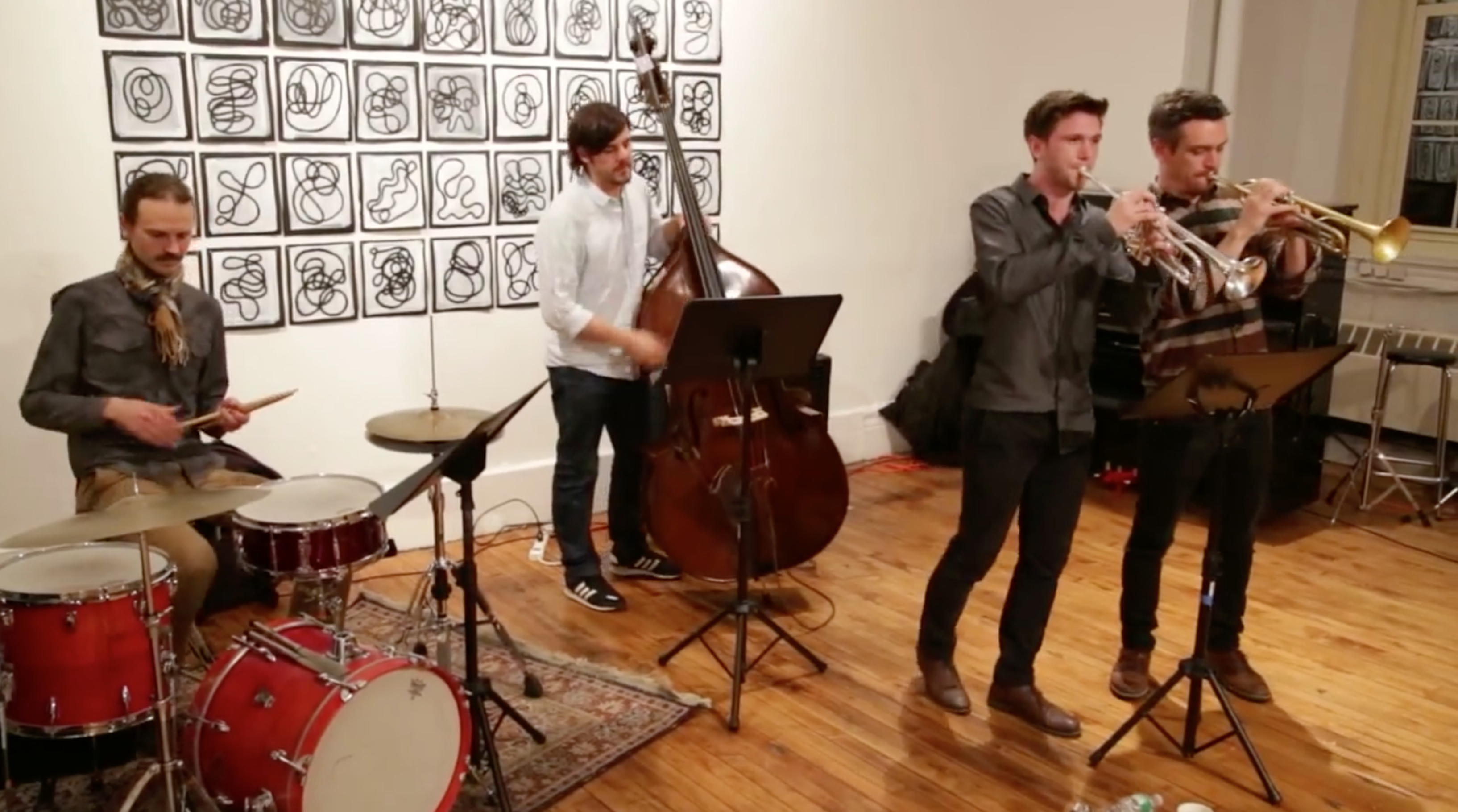 Antlers \ Capillaries @ Arts For Art (NYC Free Jazz Summit) [Mar – 31]