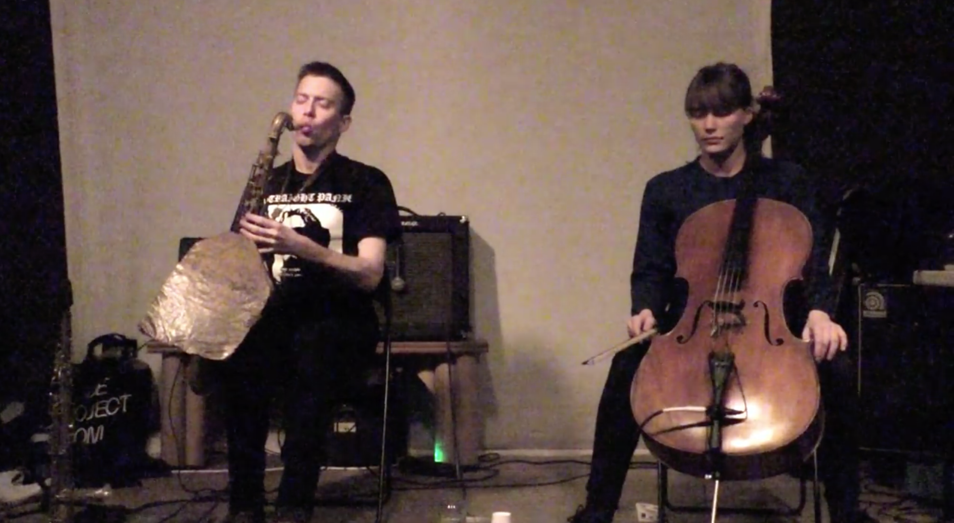 Leila Bordreuil – Michael Foster Duo @ The Sump [FEB – 11]