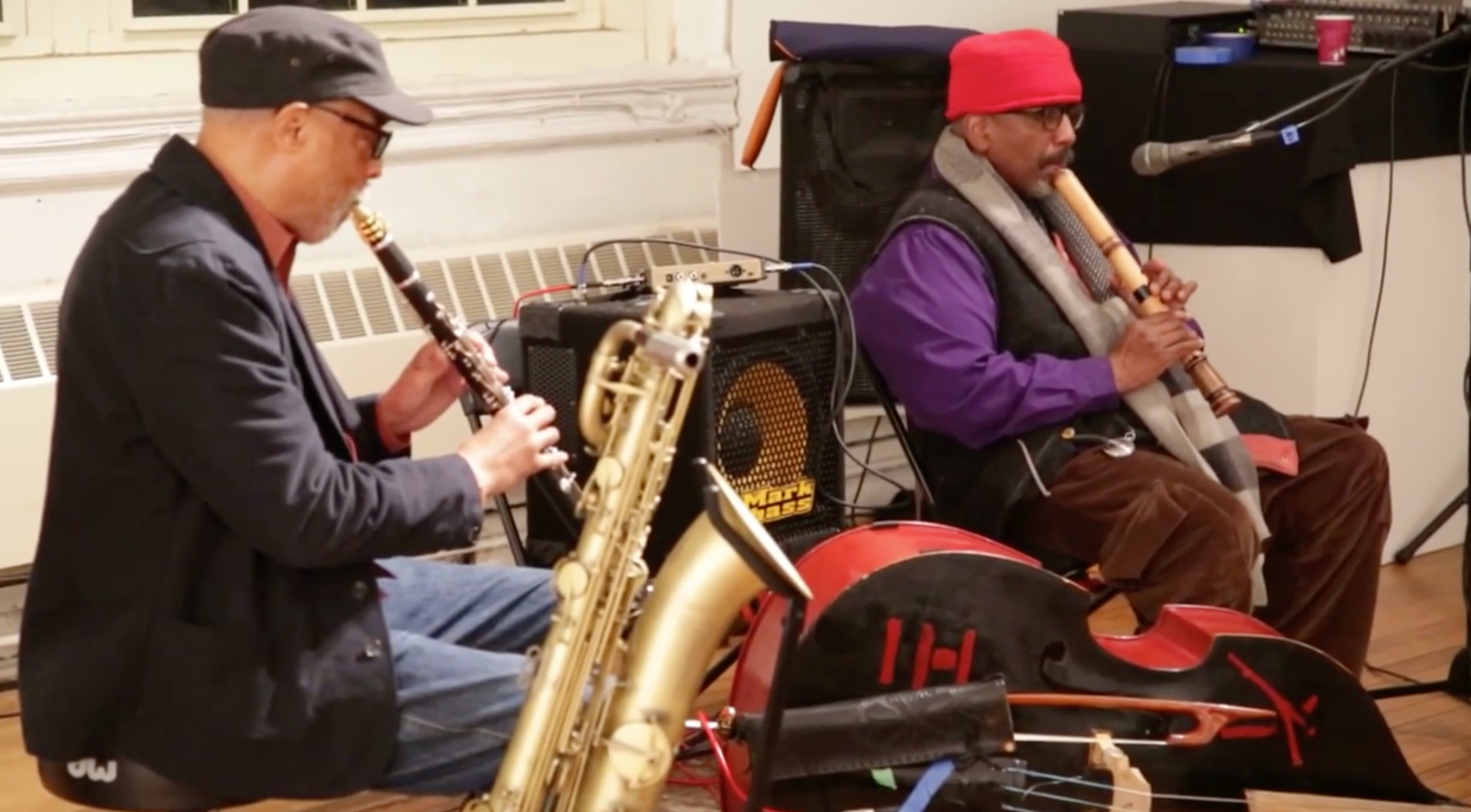 Hamiet Bluiett \ William Parker @ Arts For Art (Not A Police State) [Jan – 04]