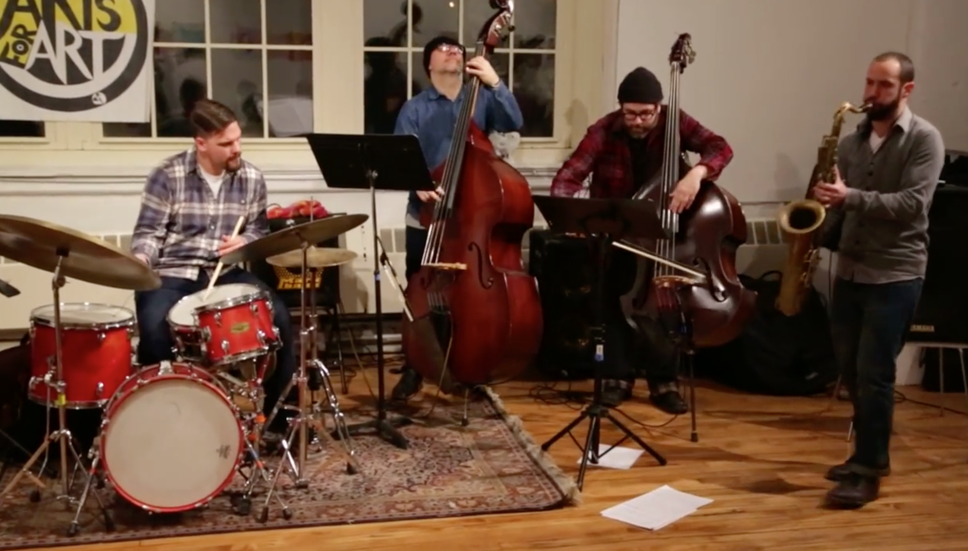 Yoni Kretzmer 2-Bass Quartet @ Arts For Art (Not A Police State) [Jan – 06]