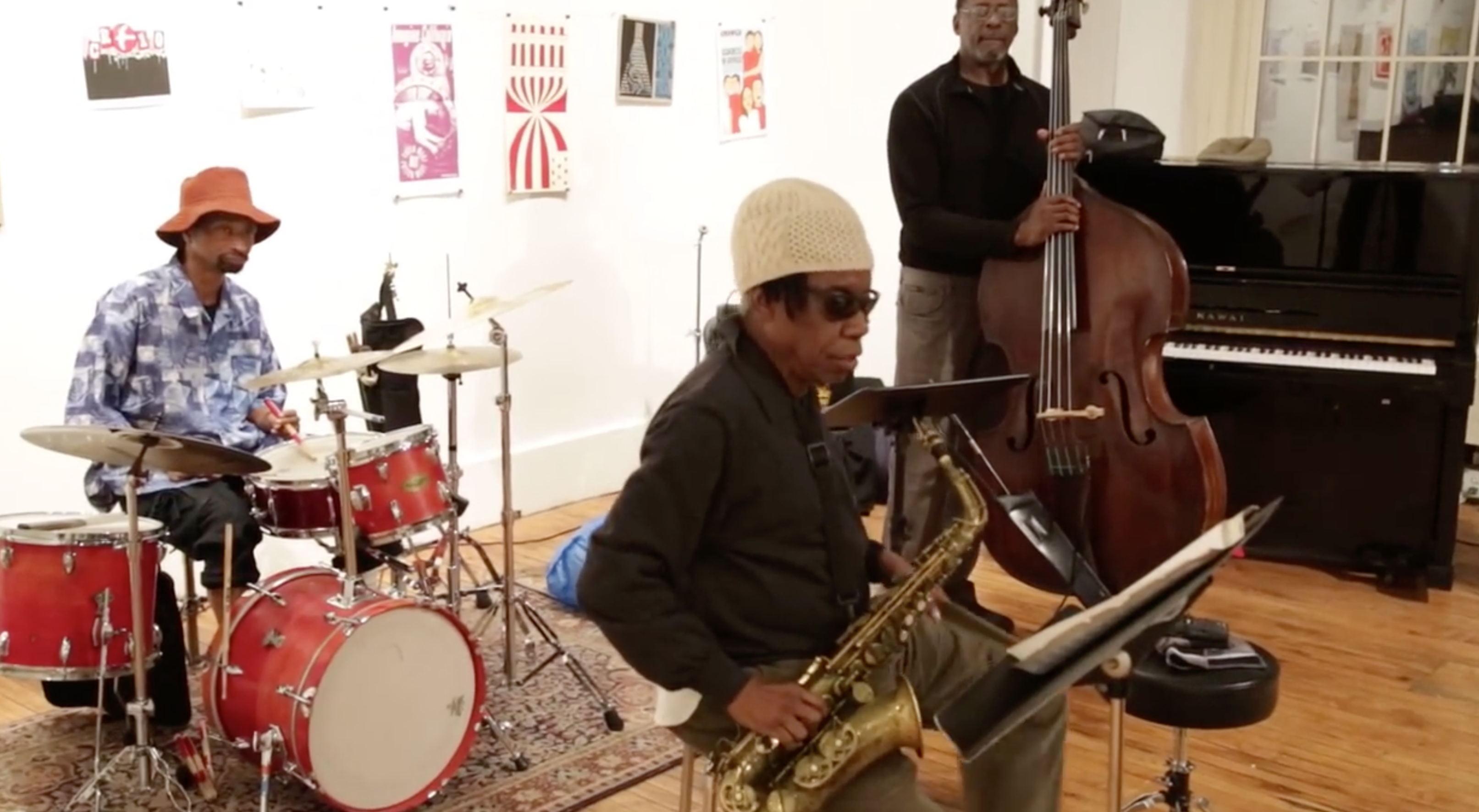 Jemeel Moondoc Trio @ Arts For Art (Not A Police State) [Jan – 11]