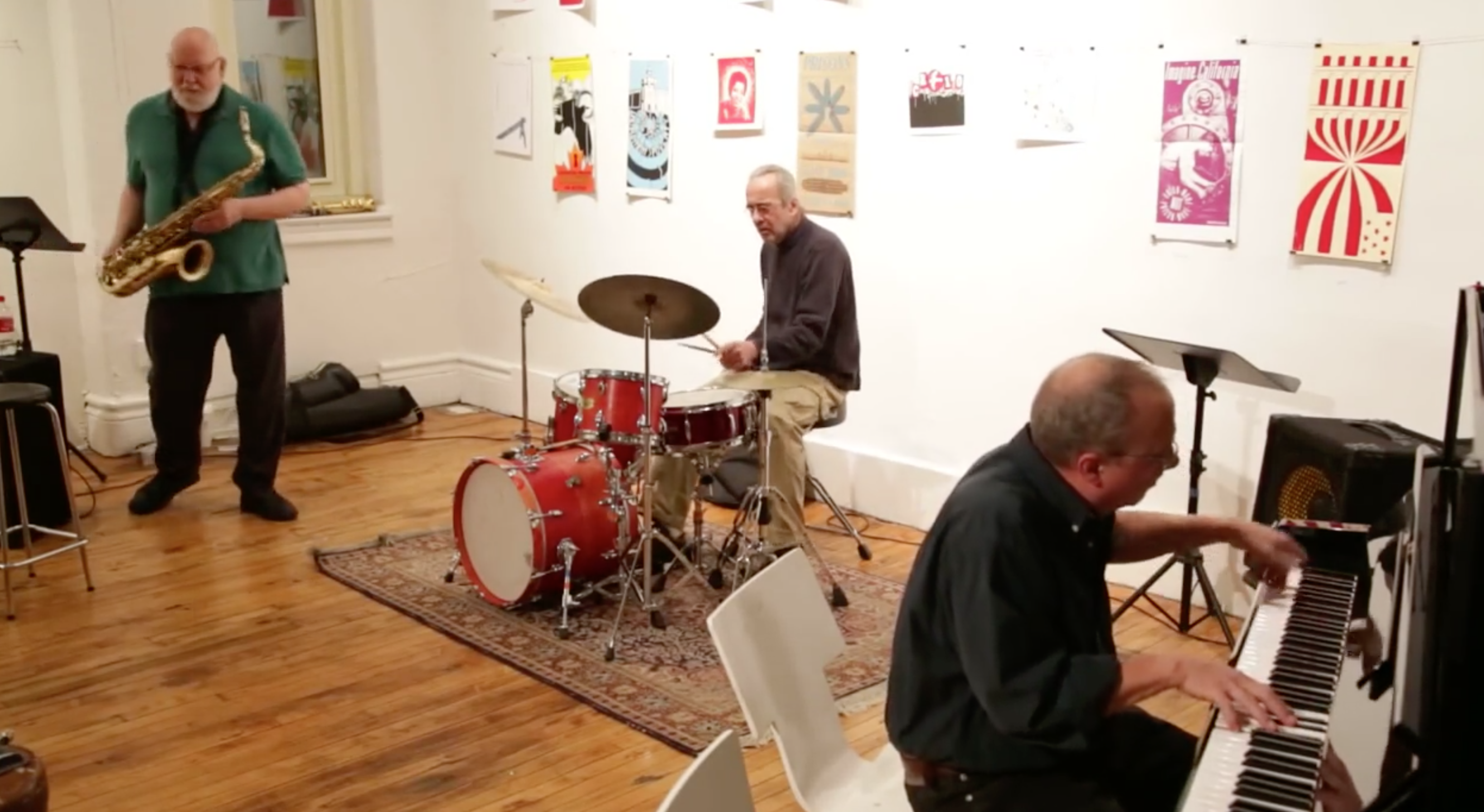 Sound River Trio @ Arts For Art (Not A Police State) [Jan – 11]