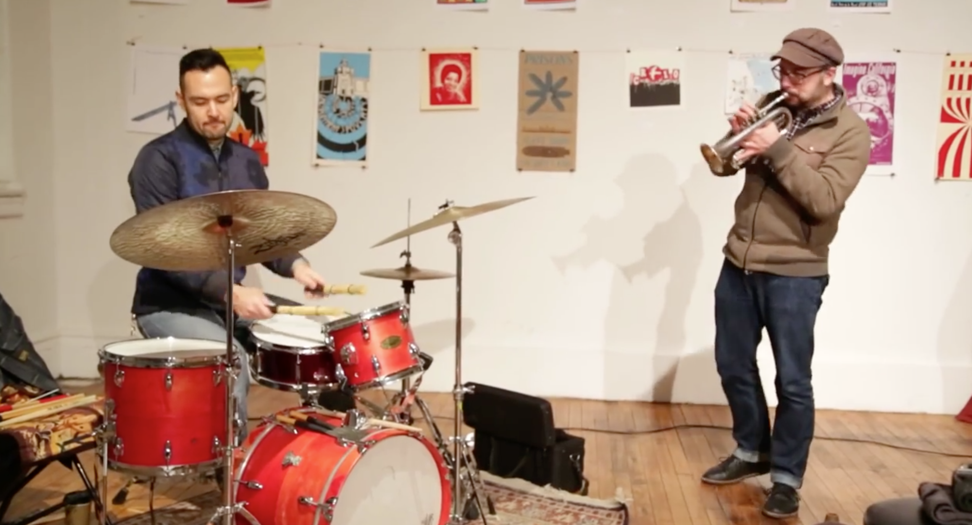 Taylor Ho Bynum \ Tomas Fujiwara Duo With J.D. Parran @ Arts For Art (Not A Police State) [Jan – 19]