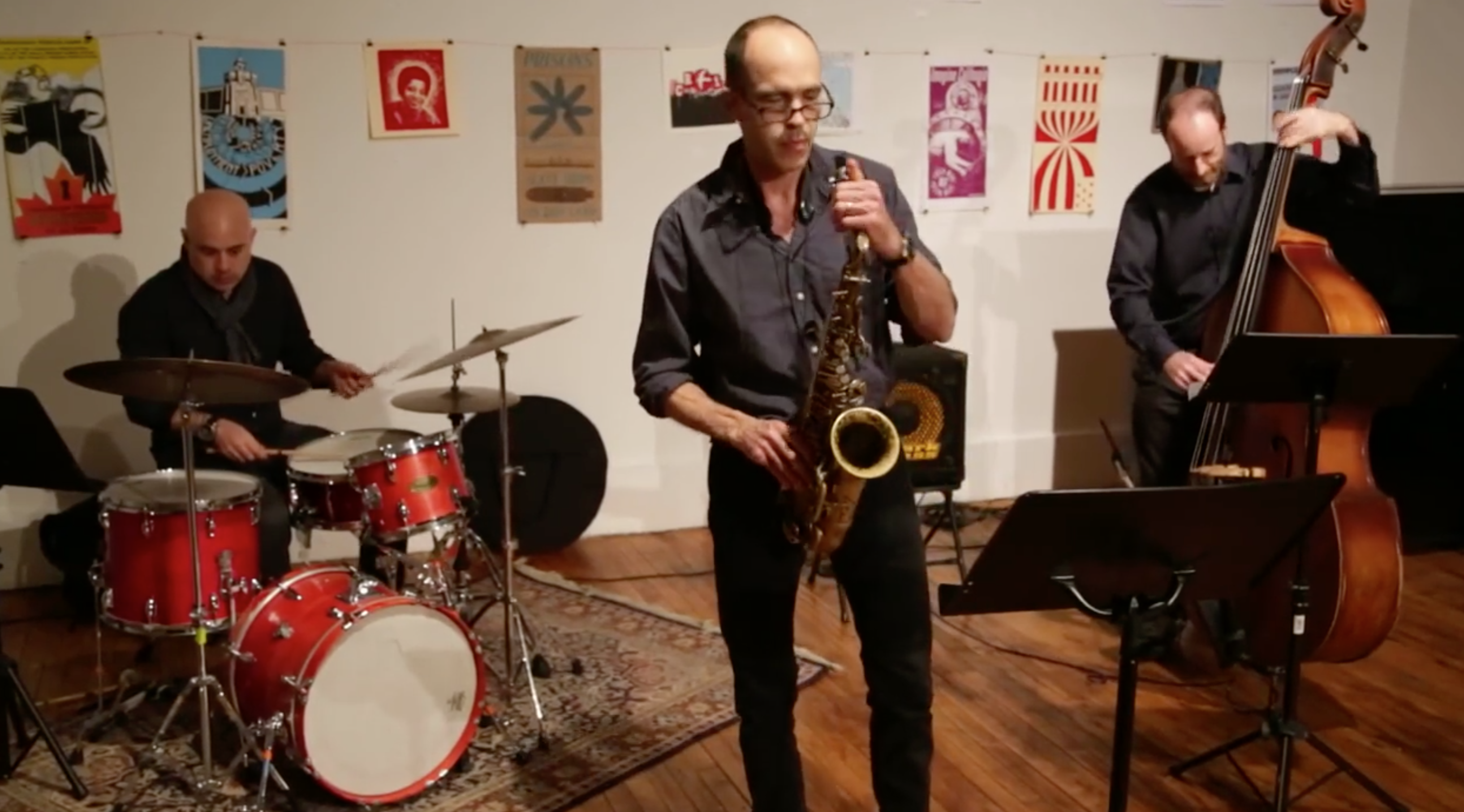 Rob Brown Trio @ Arts For Art (Not A Police State) [Jan – 20]