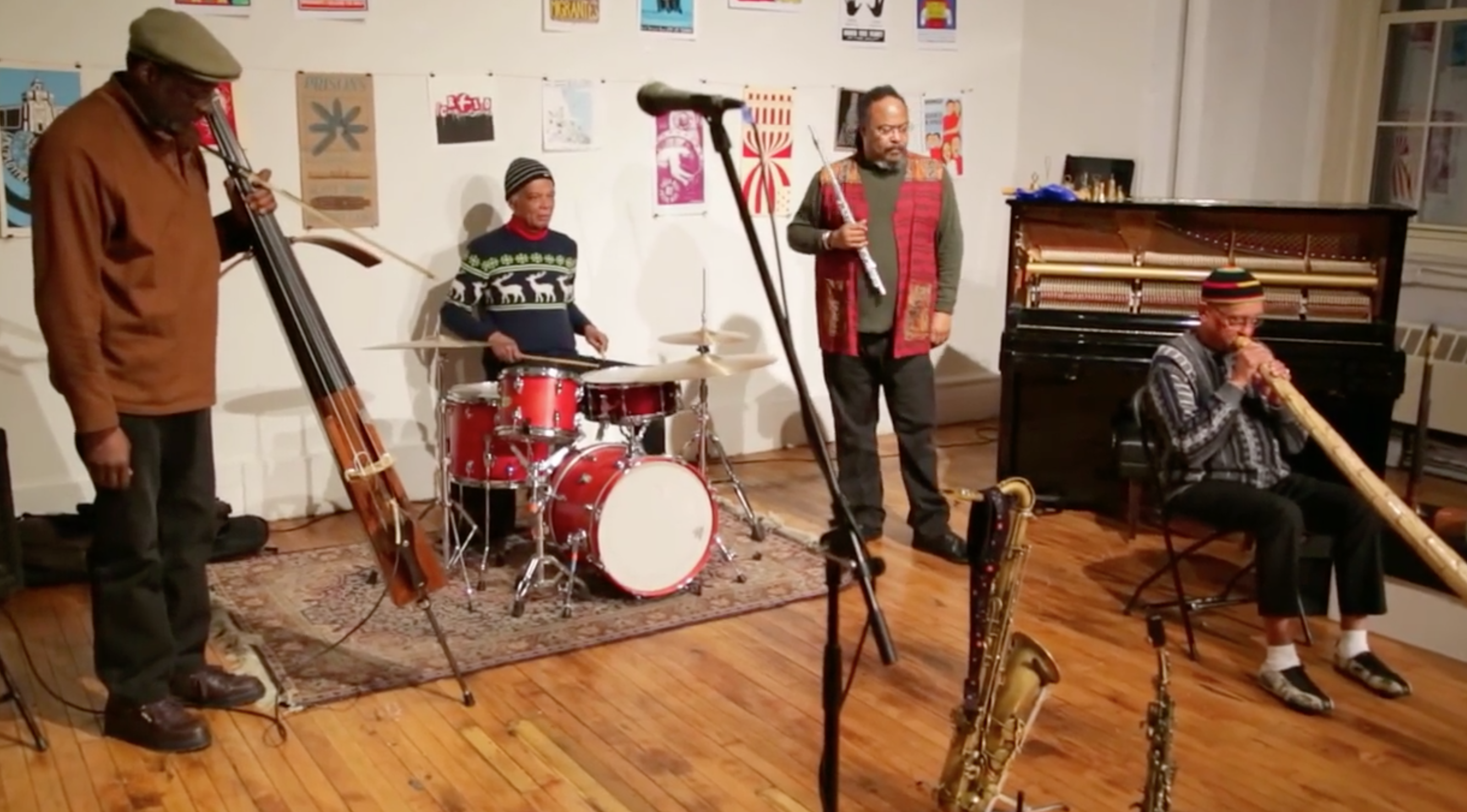 Ras Moshe's Music Now! Unit @ Arts For Art (Not A Police State) [Jan – 22]