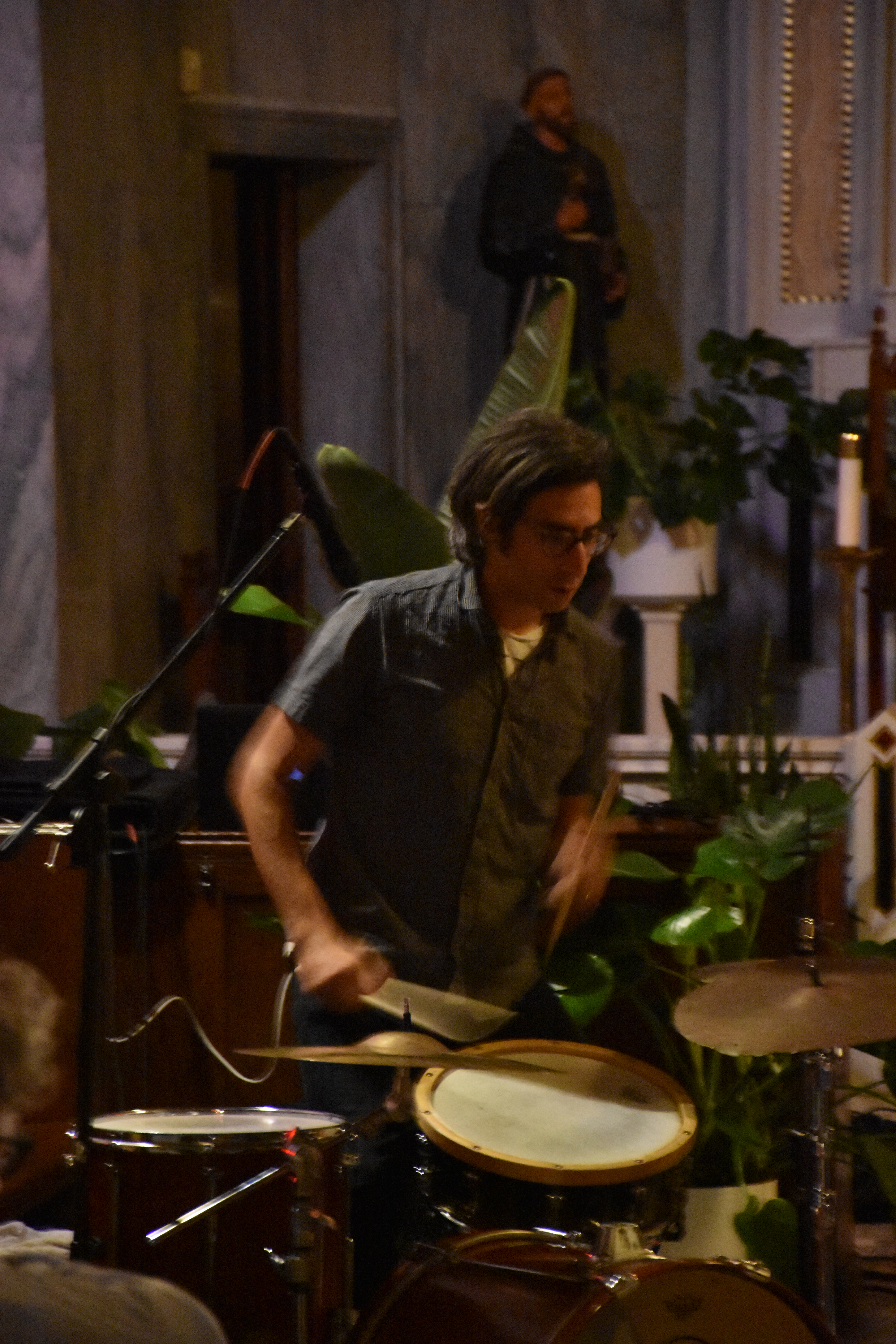 Review: Brian Chase and Zeena Parkins Live at San Damiano Church, Brooklyn