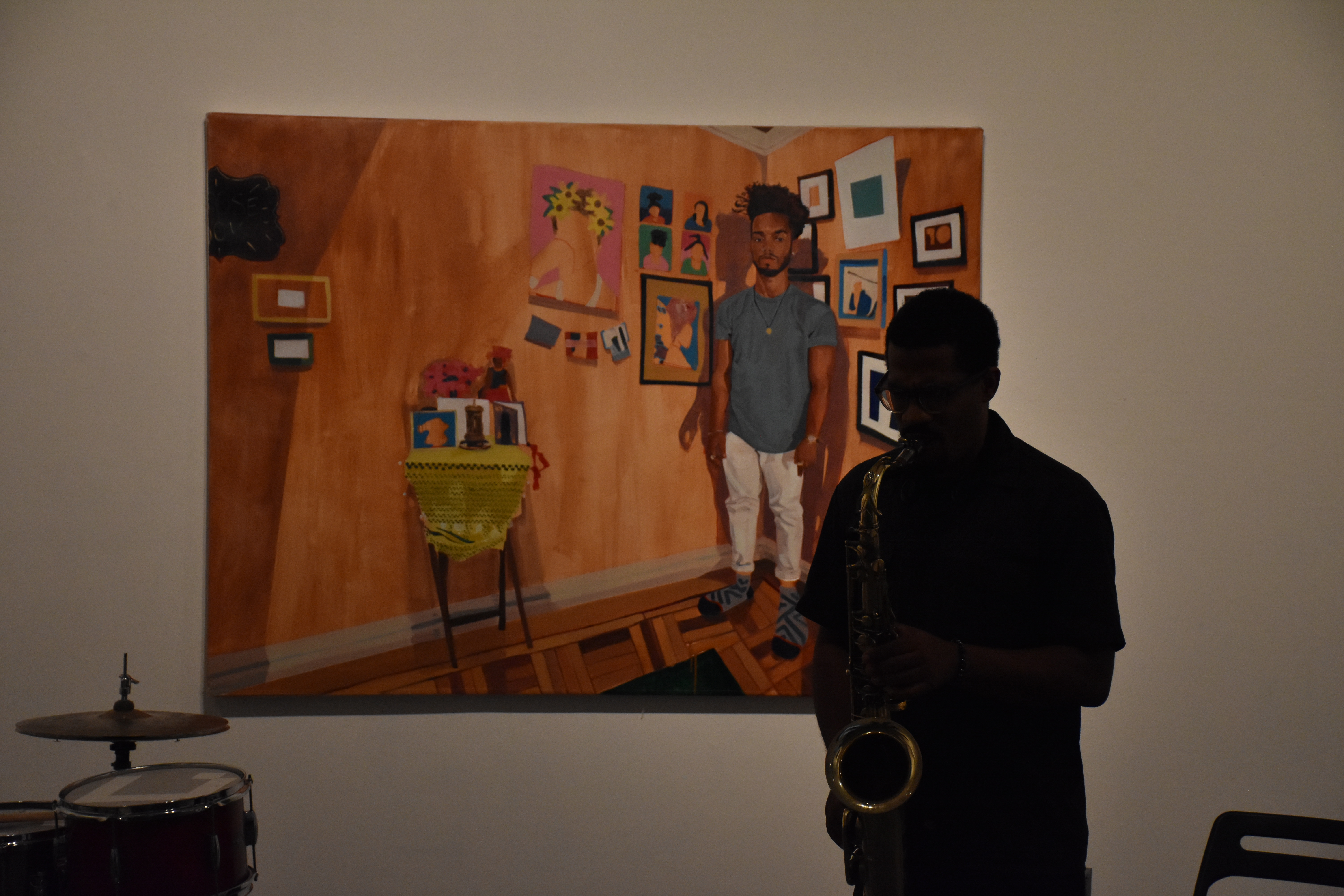 Review: James Brandon Lewis Solo, Live at the Fridman Gallery, Sep 7, 2018