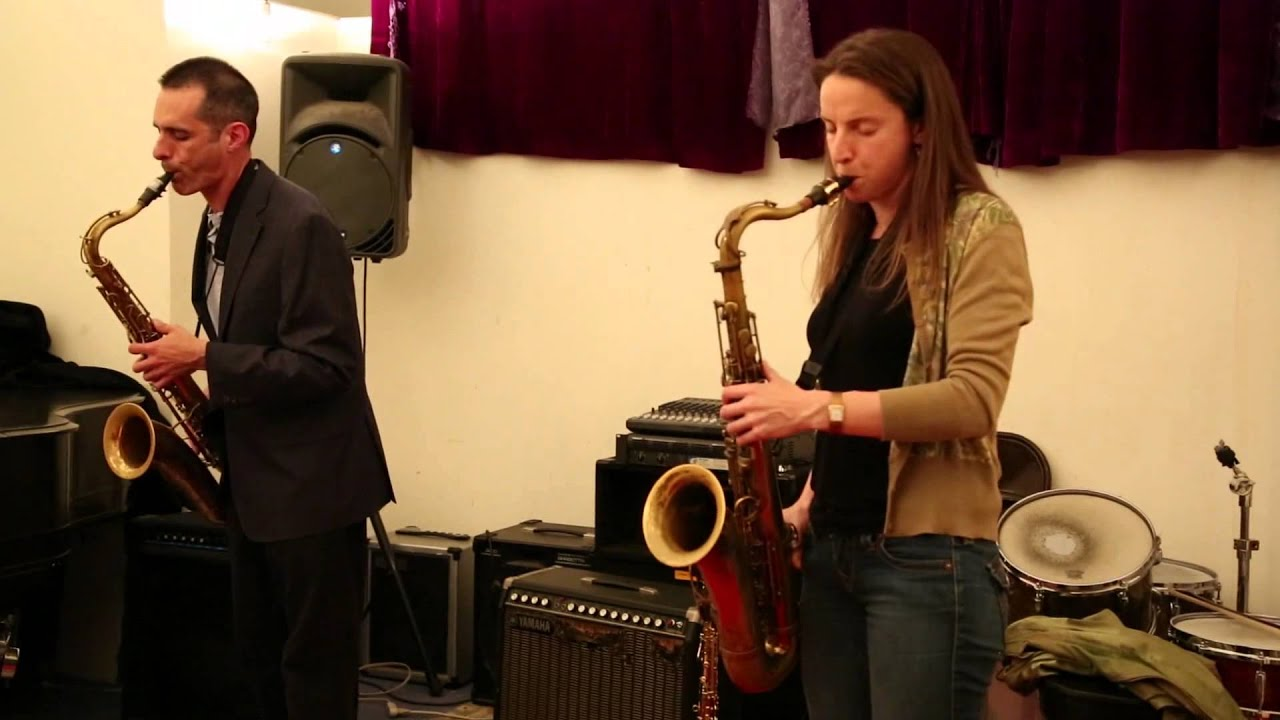 Catherine Sikora and Stanley Zappa Live at Douglass Street Music Collective 2013-05-17
