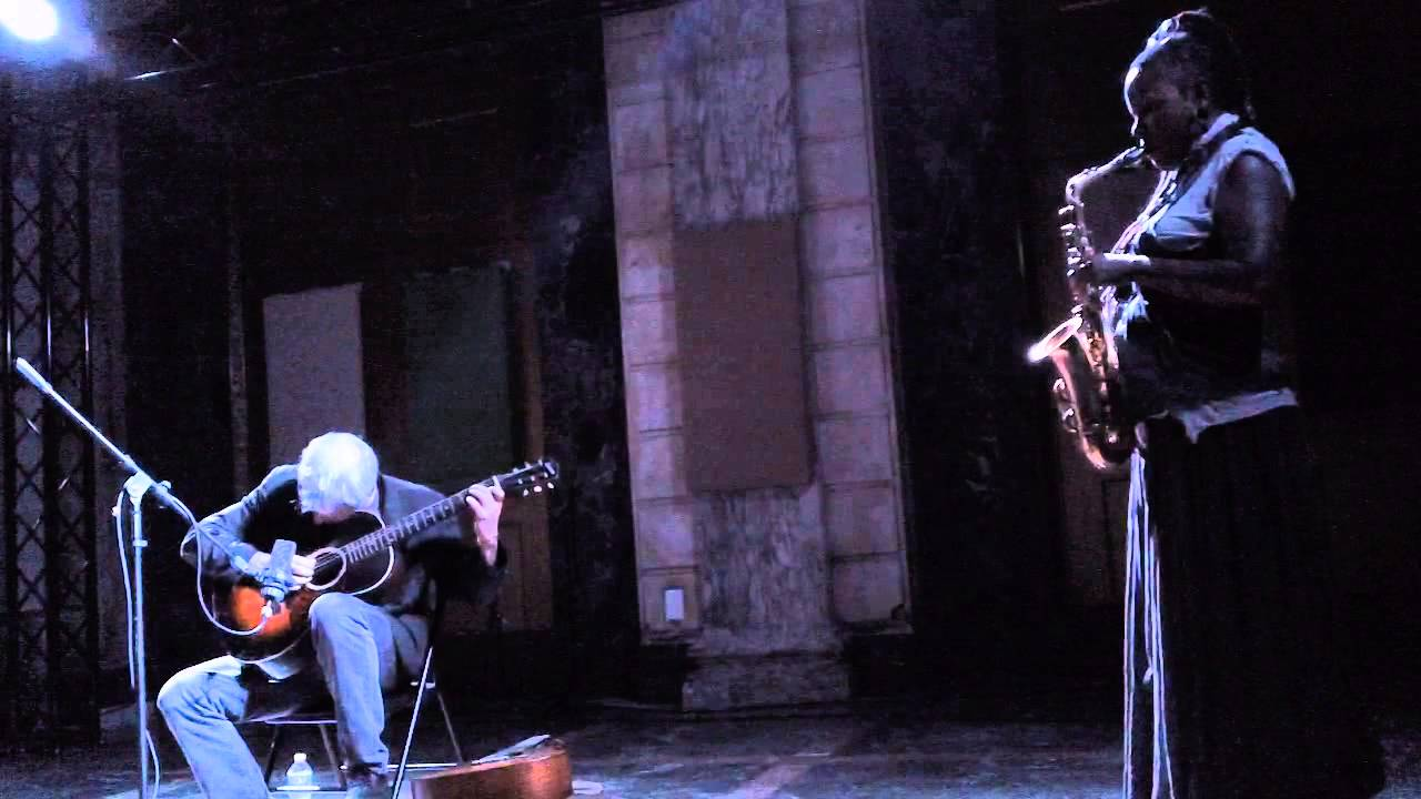Marc Ribot and Matana Roberts Live at Issue Project Room 2013-09-13