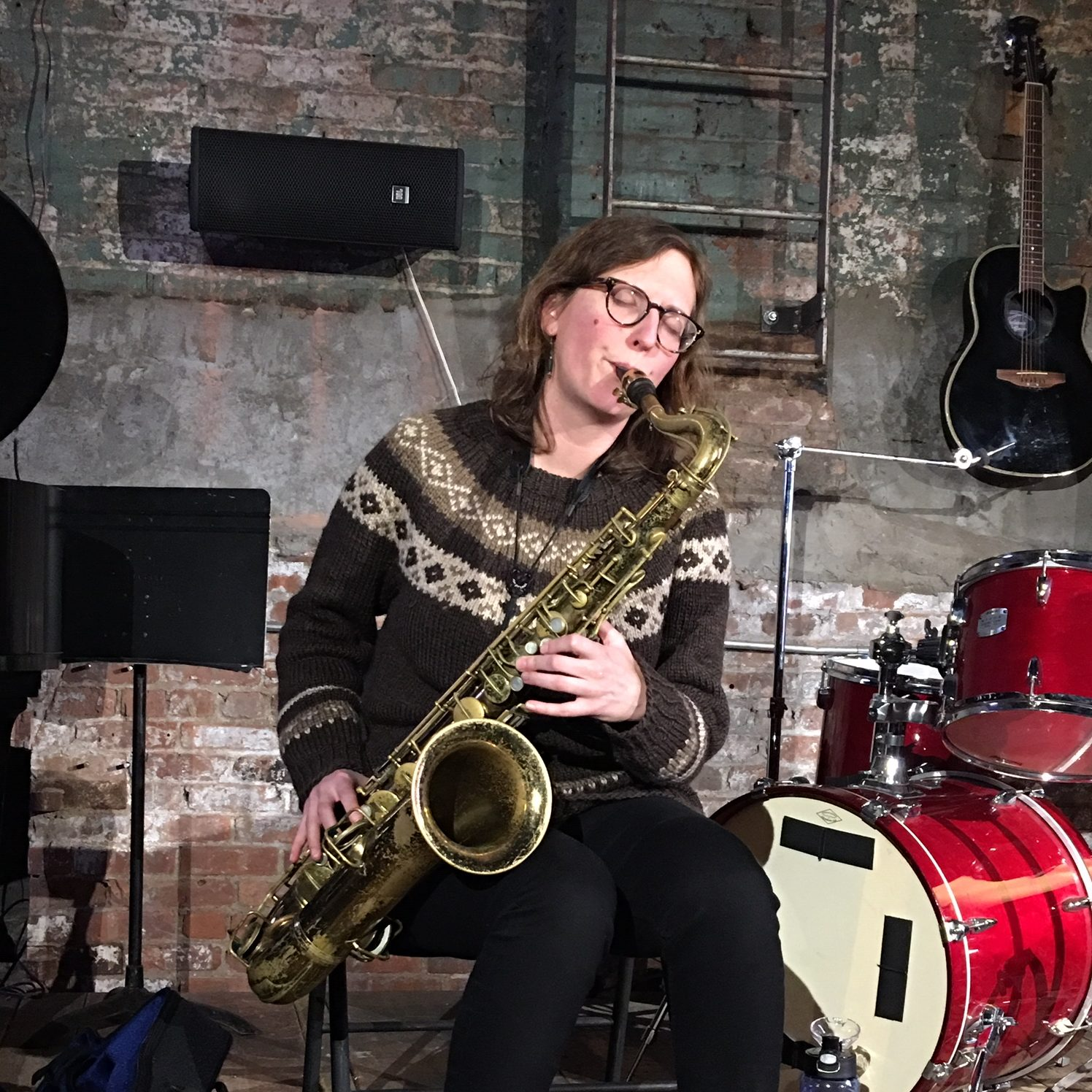 Review: Anna Webber Solo at Spectrum, Jan 4, 2019