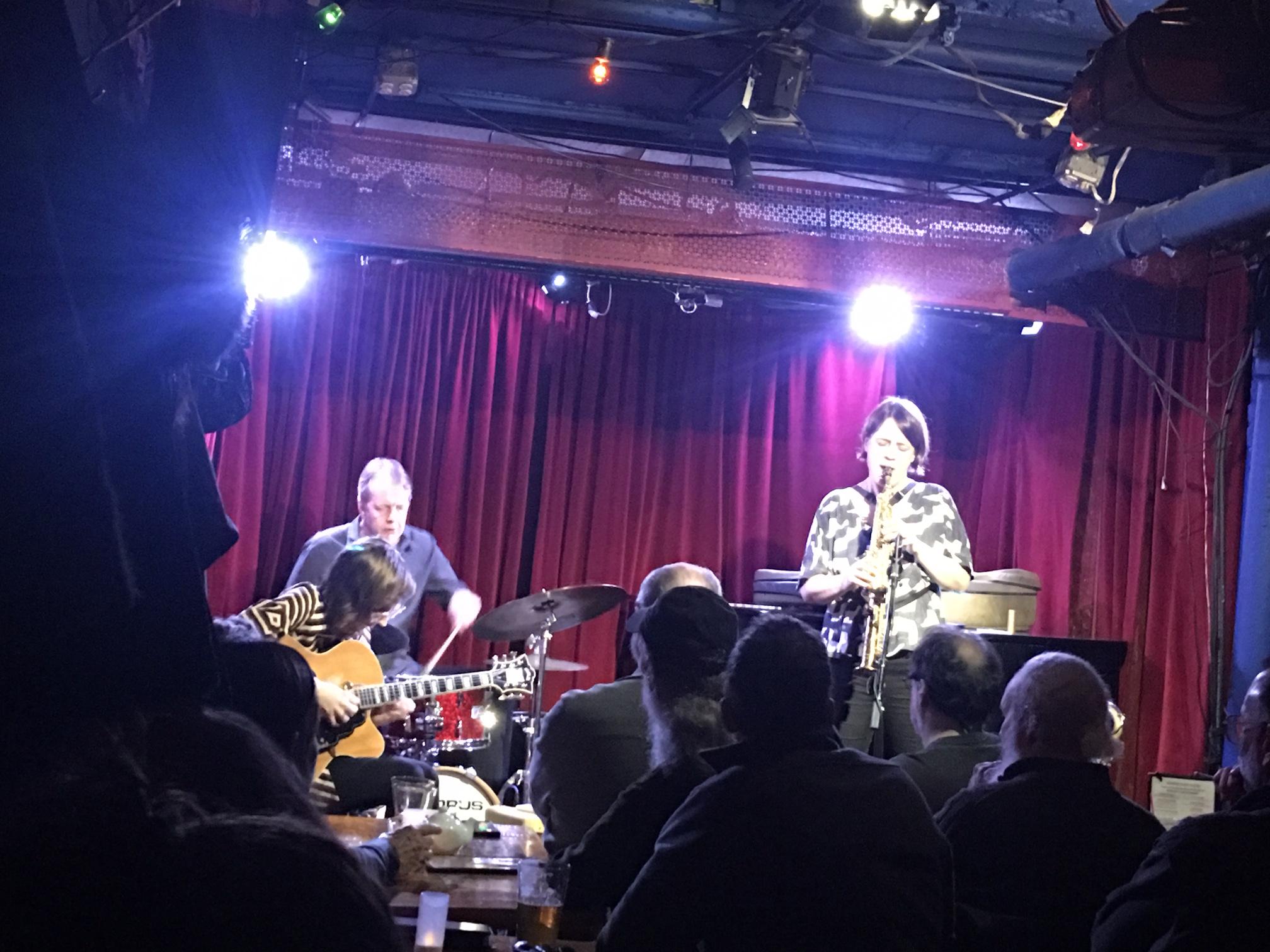 Last Night at Cornelia: Tom Rainey Trio, Dec 30, 2018