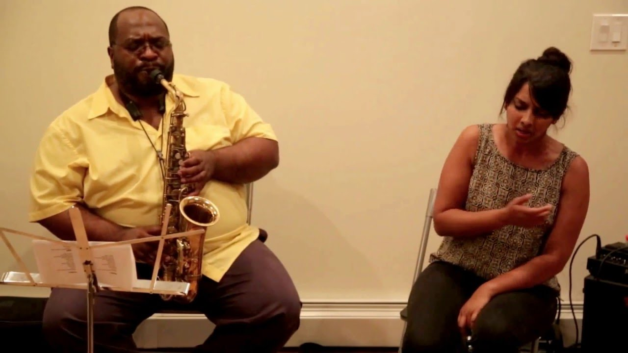 Amirtha Kidambi and Darius Jones Live at New Revolution Arts 2015-07-18