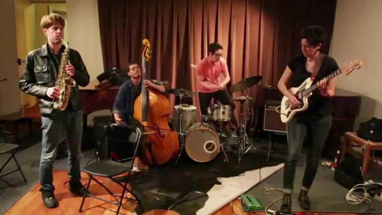 Ava Mendoza, Chris Pitsiokos, Brandon Lopez, and Max Jaffe Live at the Firehouse Space 2015-05-02