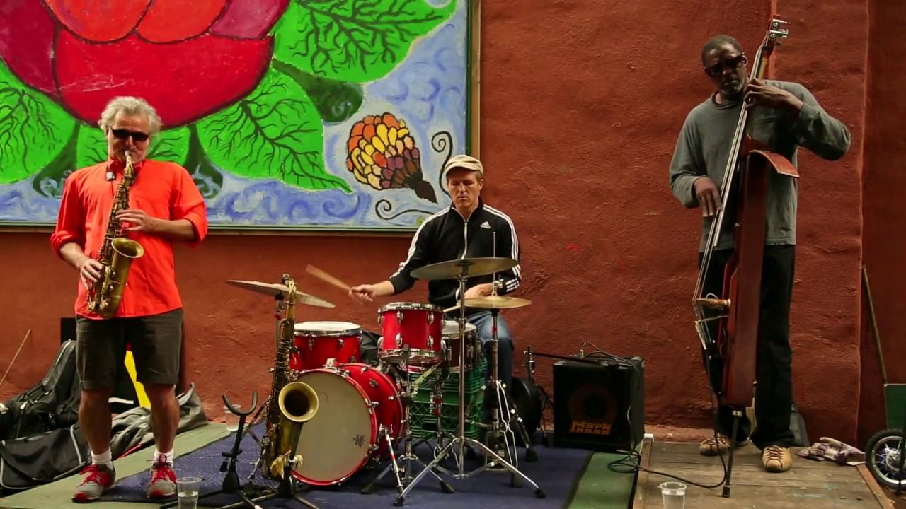 Avram Fefer, Larry Roland, and Federico Ughi Live in Gardens 2014-09-20