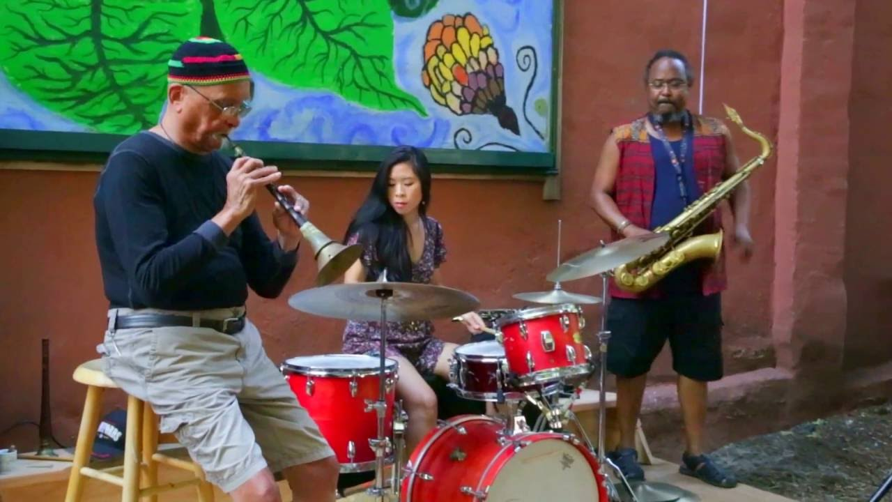 Bill Cole, Ras Moshe, and Tiffany Chang Live at Childrens Magical Garden 2016-09-17