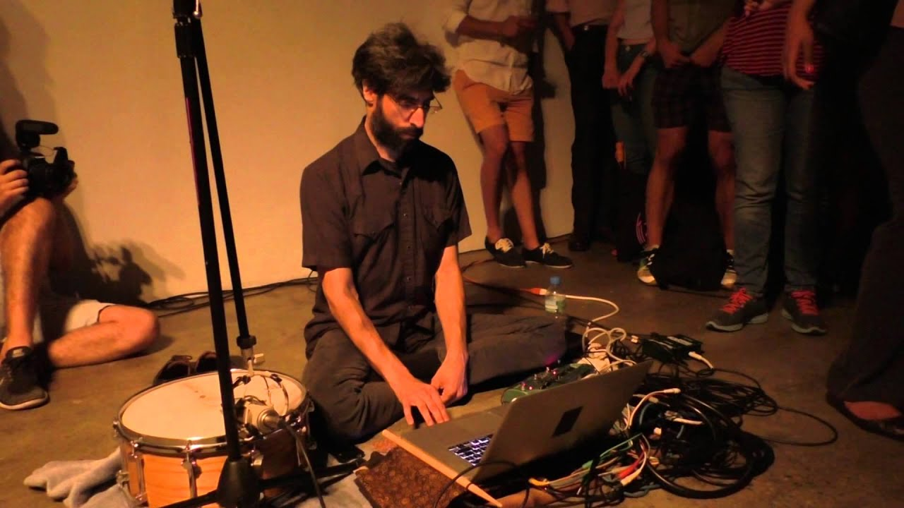 Brian Chase Solo Live at the Fridman Gallery 2015-07-08