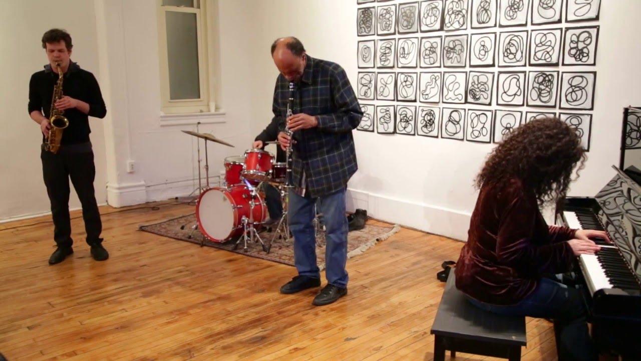 Carol Leibowitz, Daniel Carter, Nick Lyons, and Andrew Drury Live at Arts for Art (NYC Free Jazz Summit) 2016-04-09