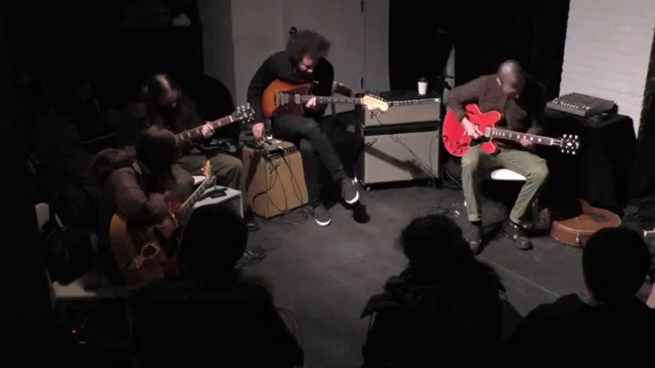 Charlie Looker, Mary Halvorson, Mick Barr, and Tyondai Braxton Live at the Stone 2015-01-14