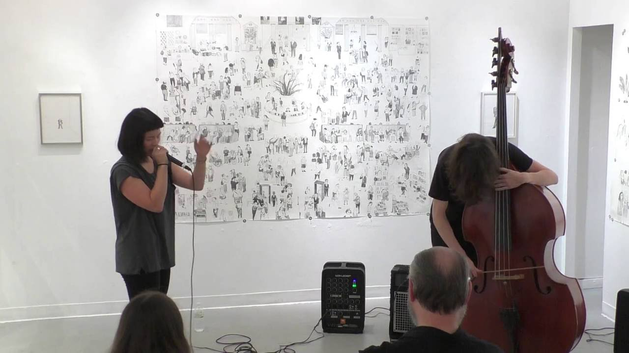 Charmaine Lee and Zach Rowden Live at Gallery 456 2016-09-04