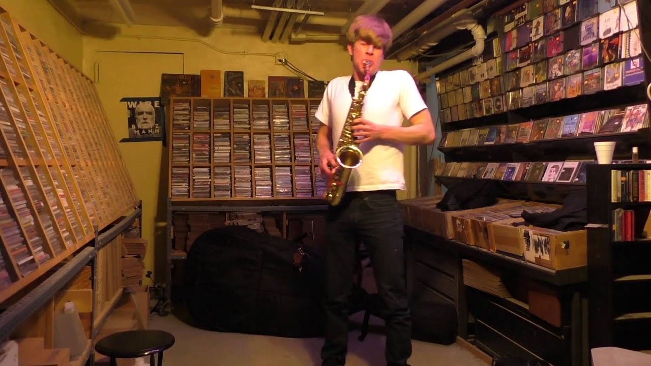 Chris Pitsiokos Solo Live at Downtown Music Gallery 2016-05-22