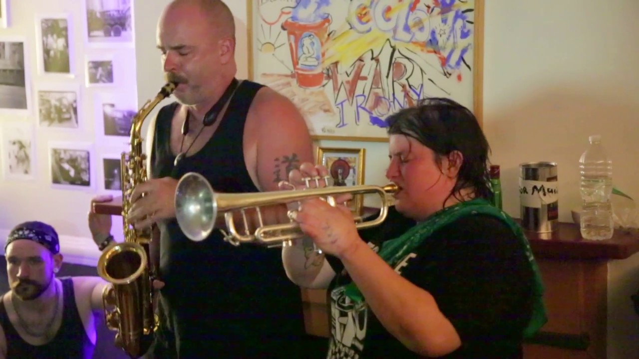 Colin Fisher, Jaimie Branch, Brandon Lopez, and Jason Nazary Live at MacDougal Street House Party 2016-08-12