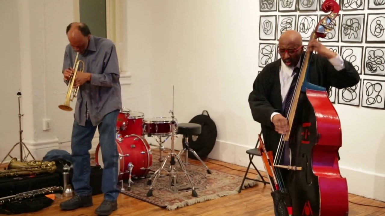Daniel Carter and William Parker Live at Arts for Art (NYC Free Jazz Summit) 2016-03-31