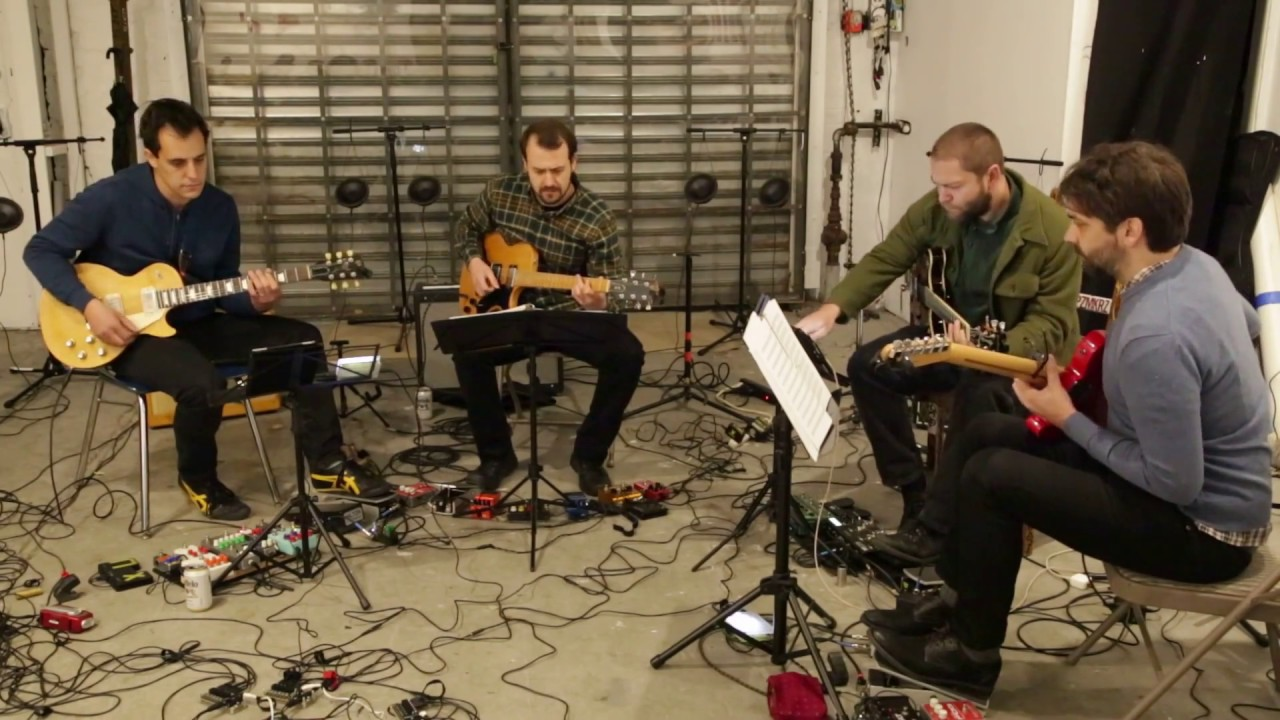 Dither Guitar Quartet Live at the Frost Theatre of the Arts 2016-12-04