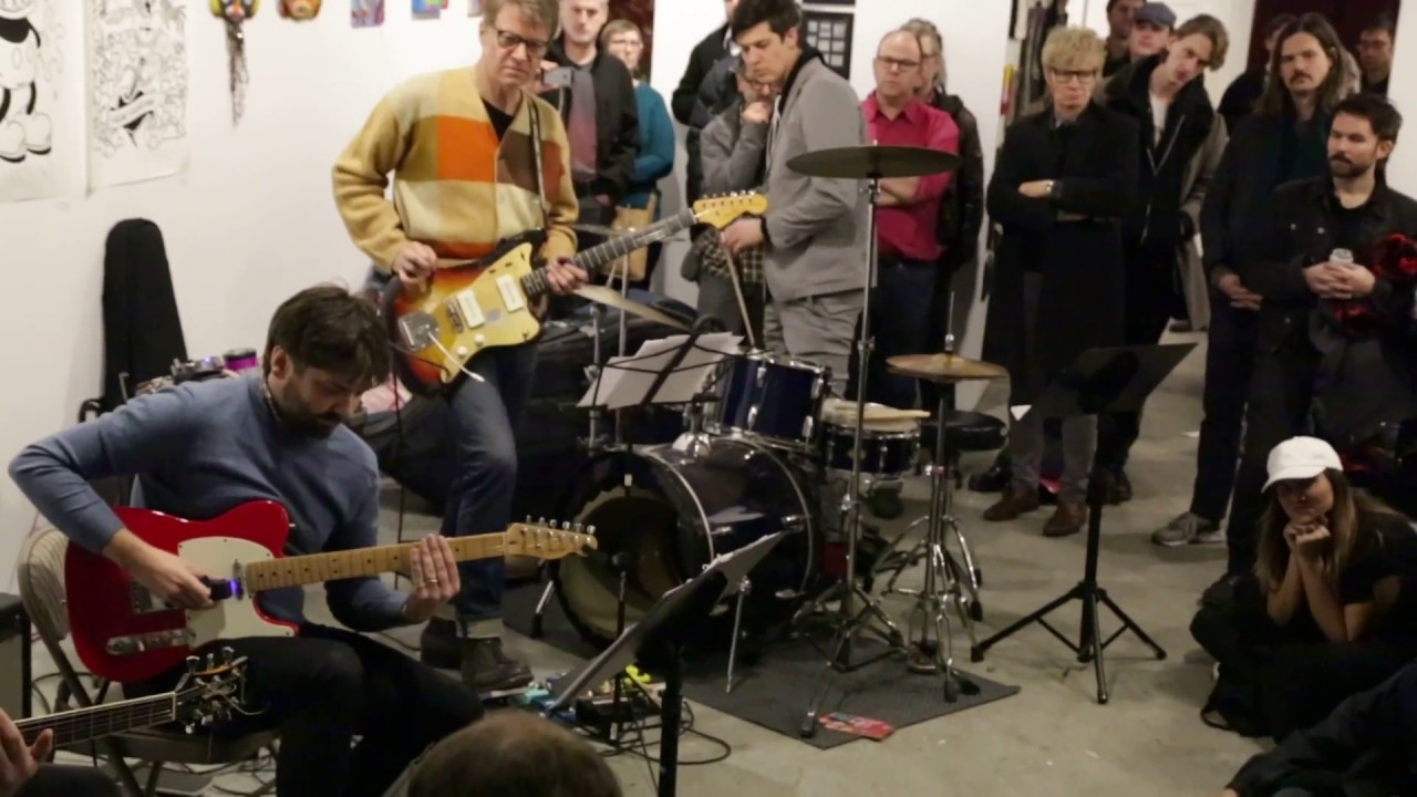 Dither Guitar Quartet with Nels Cline and Ches Smith Live at Dither Extravaganza 2016-12-04