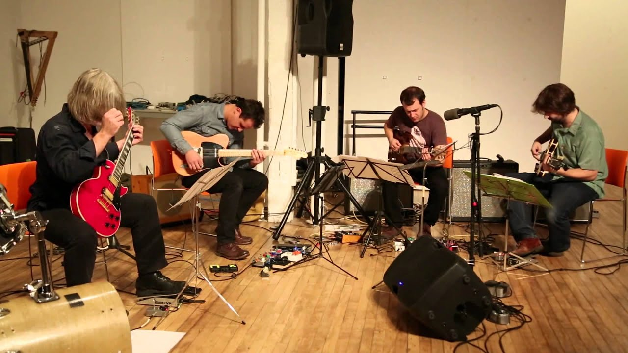Dither Trio with guest Nick Didkovsky and Larry Polansky at Dither Extravaganza 2013-10-26