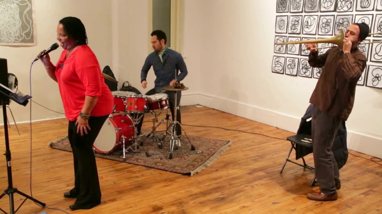 Fay Victor's Sound Session Live at Arts for Art (NYC Free Jazz Summit) 2016-04-10