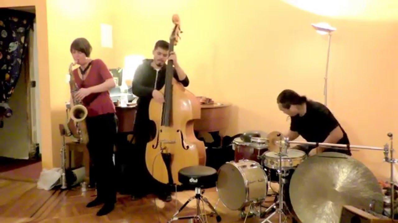Ingrid Laubrock, Brandon Lopez, and Tatsuya Nakatani Live at Soup & Sound 2015-12-21