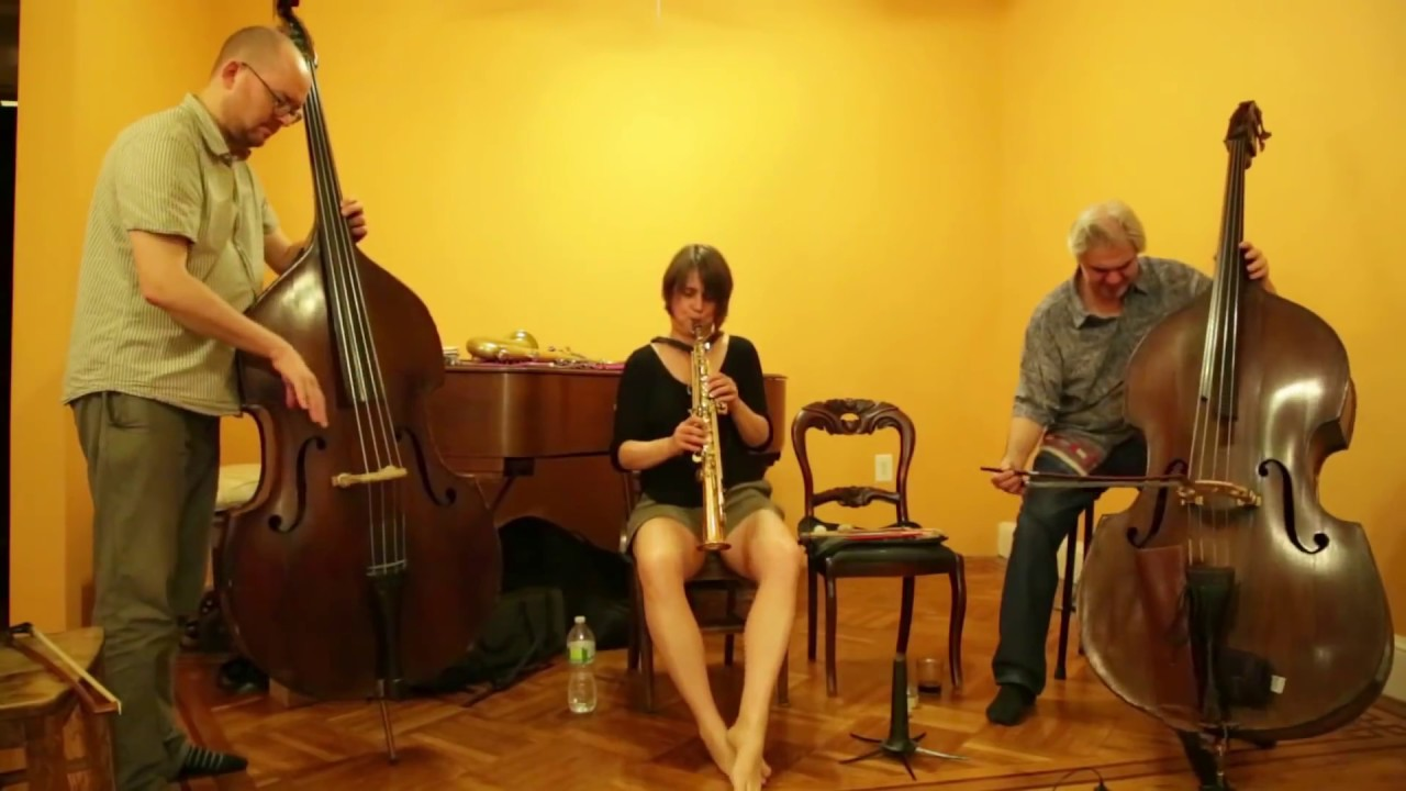 Ingrid Laubrock, Olie Brice, and Ken Filiano Live at Soup & Sound 2015-06-14