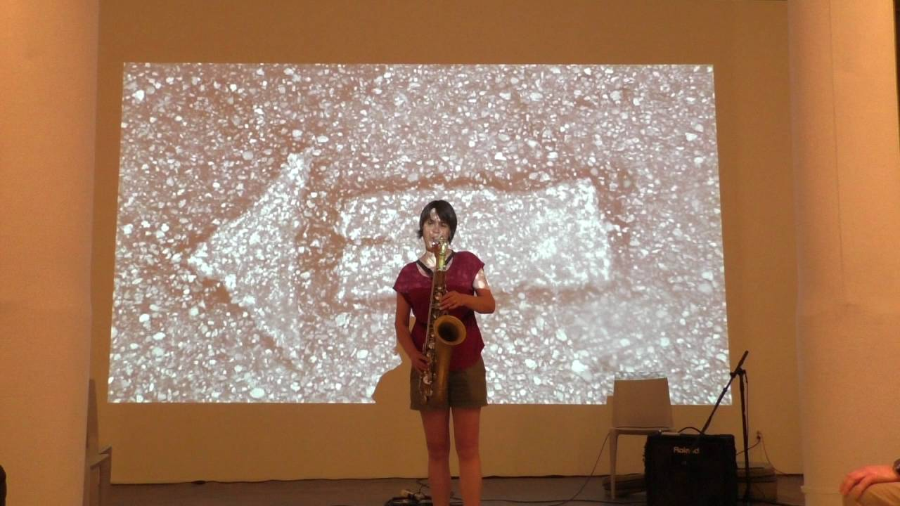 Ingrid Laubrock Solo Live at the Fridman Gallery 2016-06-29