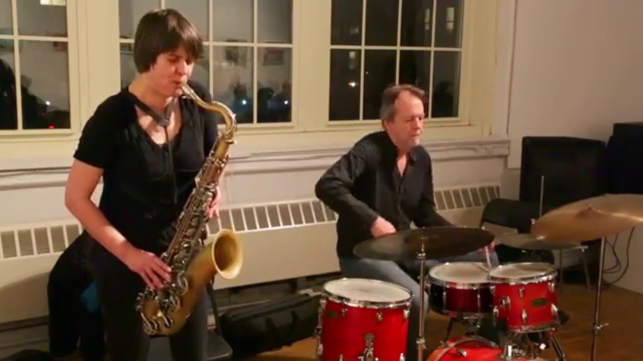Ingrid Laubrock-Tom Rainey Duo Live at Not a Police State (Arts for Art) 2016-01-04