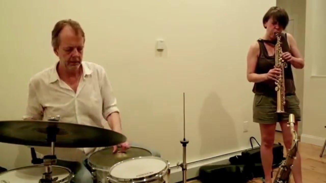Ingrid Laubrock-Tom Rainey Duo Live at New Revolution Arts 2015-06-13