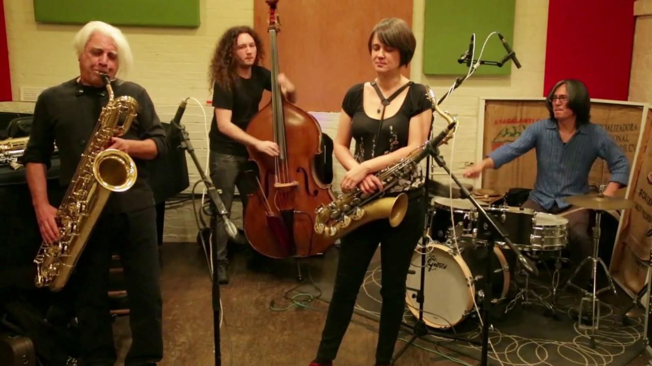 Ingrid Laubrock, Vinny Golia, Max Johnson, and Satoshi Takeishi Live at Ibeam Brooklyn 2015-05-23